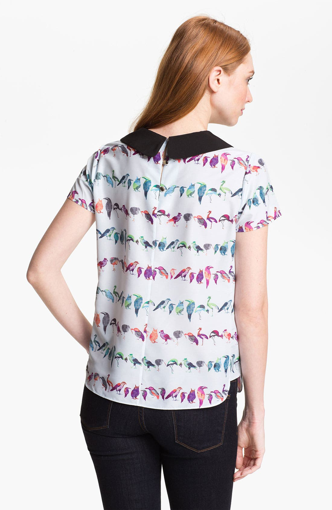 Alternate Image 2  - Ted Baker London 'Tutti Frutti' Stripe Top (Online Only)