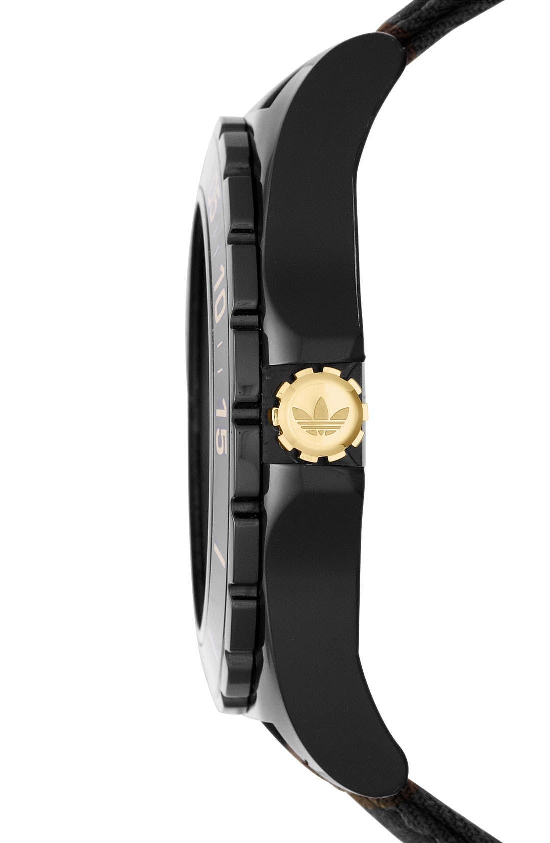 Alternate Image 2  - adidas Originals 'Stockholm' Camo Strap Watch, 45mm