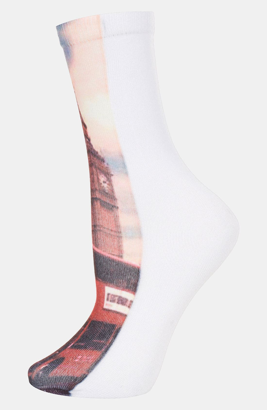 Alternate Image 1 Selected - Topshop 'London Scape' Socks