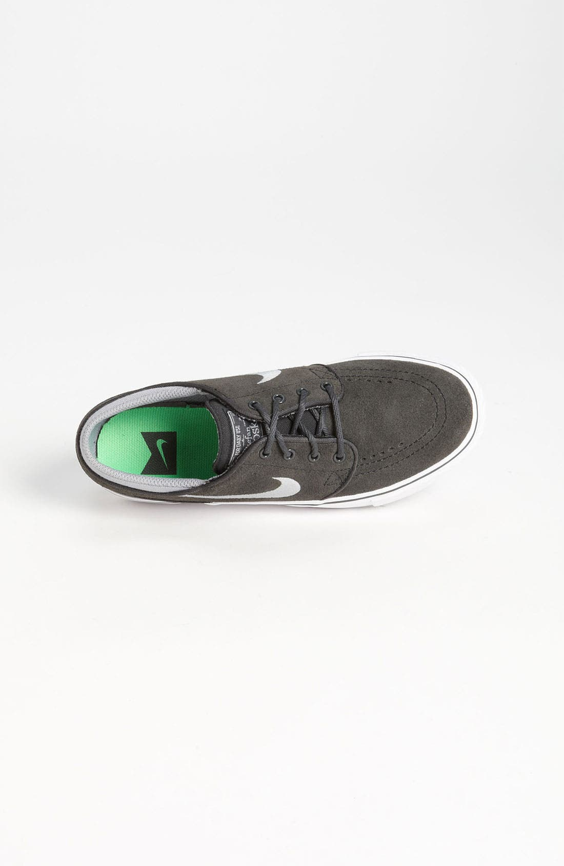 'Stefan Janoski' Sneaker,                             Alternate thumbnail 3, color,                             Anthracite/ Grey