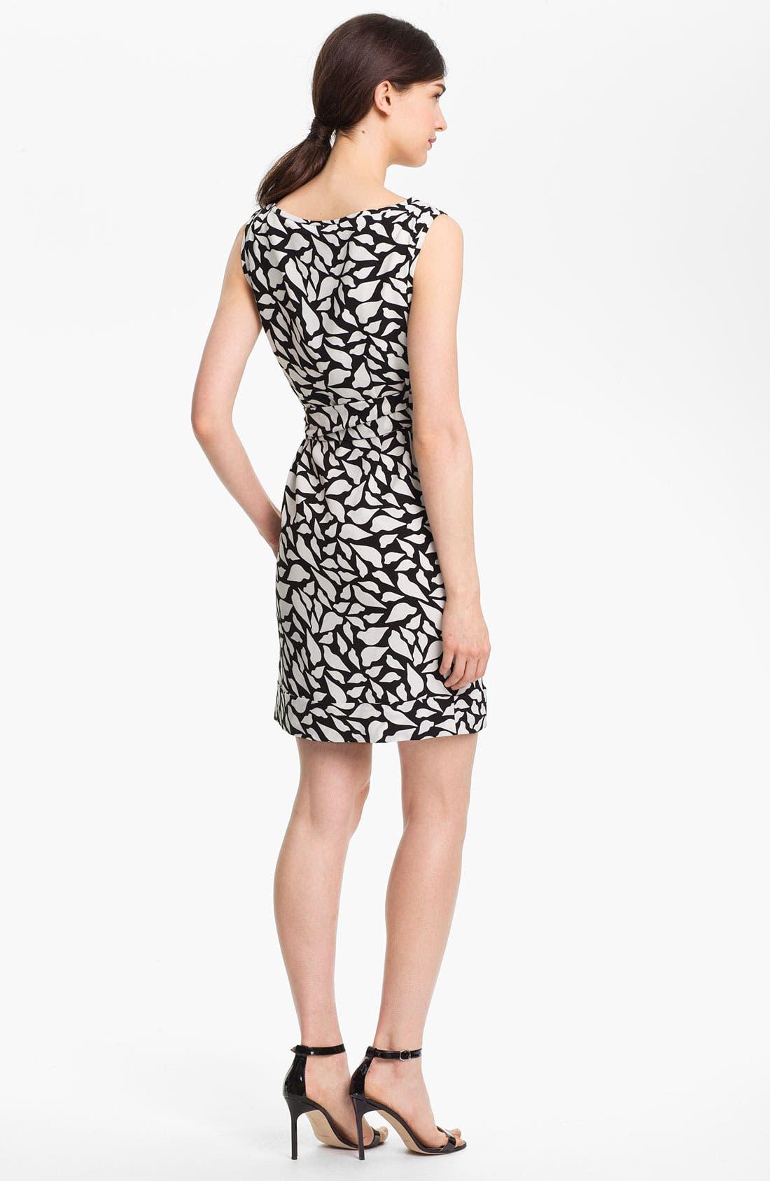 Alternate Image 2  - Diane von Furstenberg 'New Della' Stretch Silk Sheath Dress