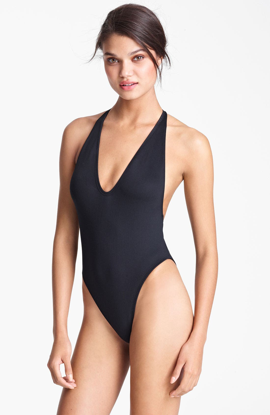 Main Image - Lanvin V-Neck Swimsuit