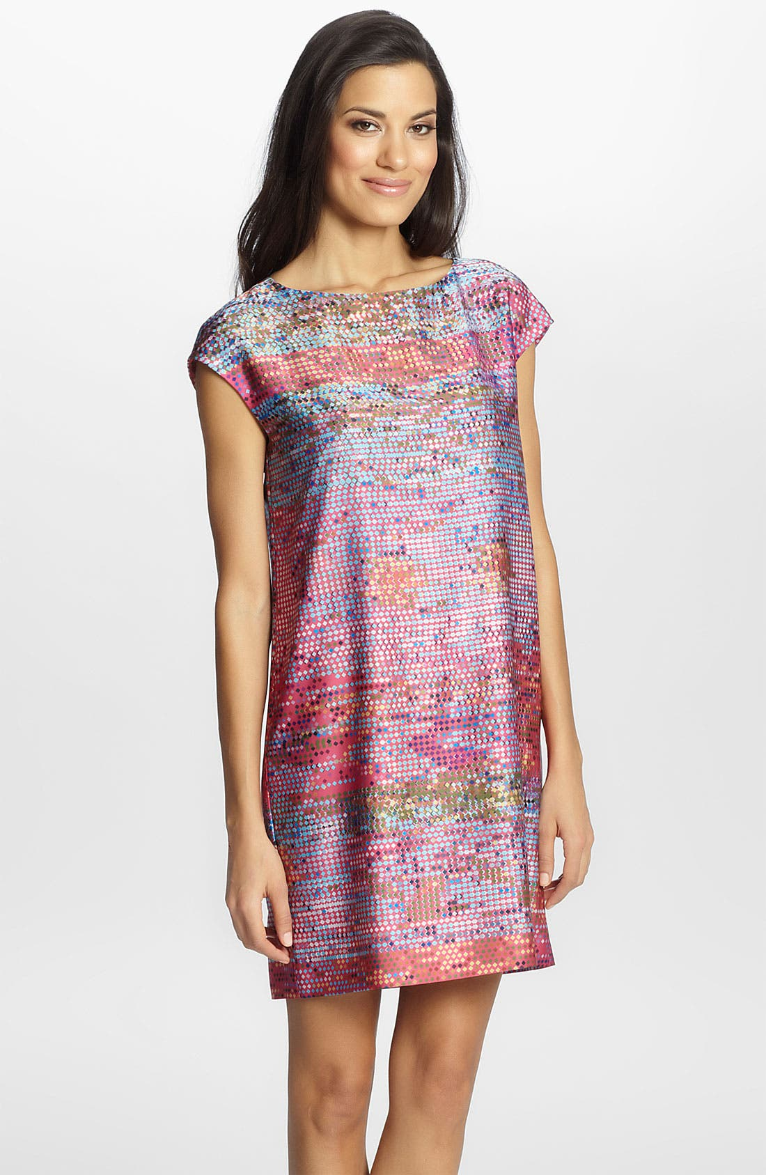 Alternate Image 1 Selected - Cynthia Steffe 'Gina' Print Shift Dress