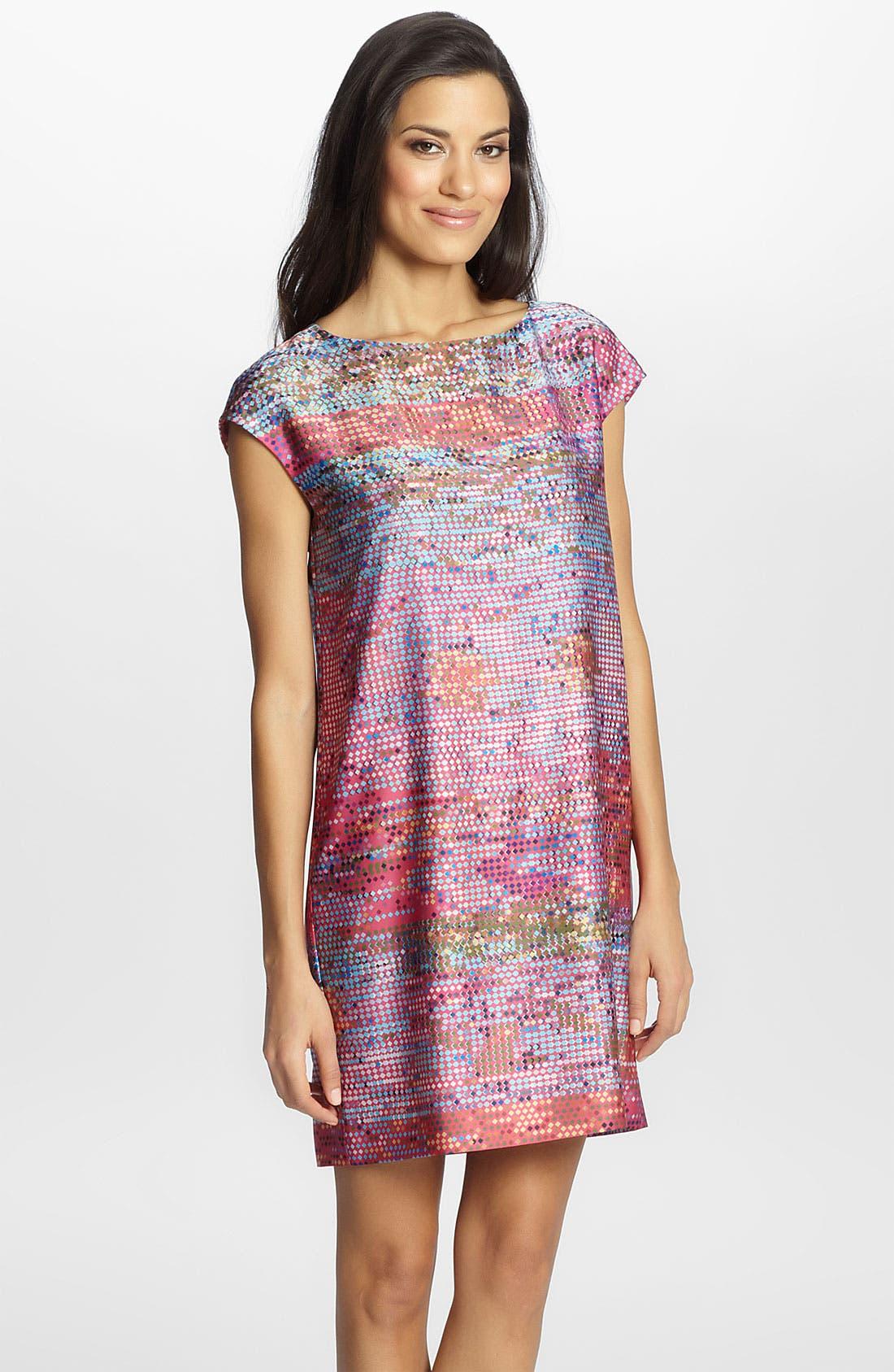 Main Image - Cynthia Steffe 'Gina' Print Shift Dress