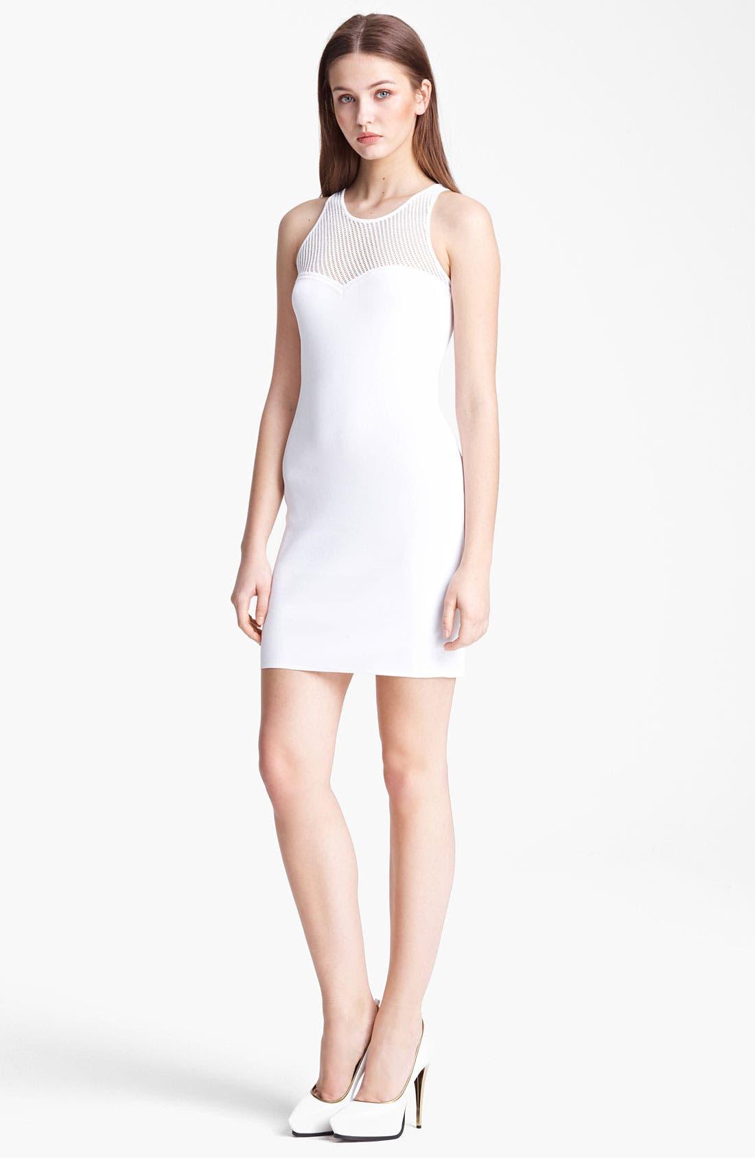 Alternate Image 1 Selected - Emilio Pucci Mesh Detail Dress