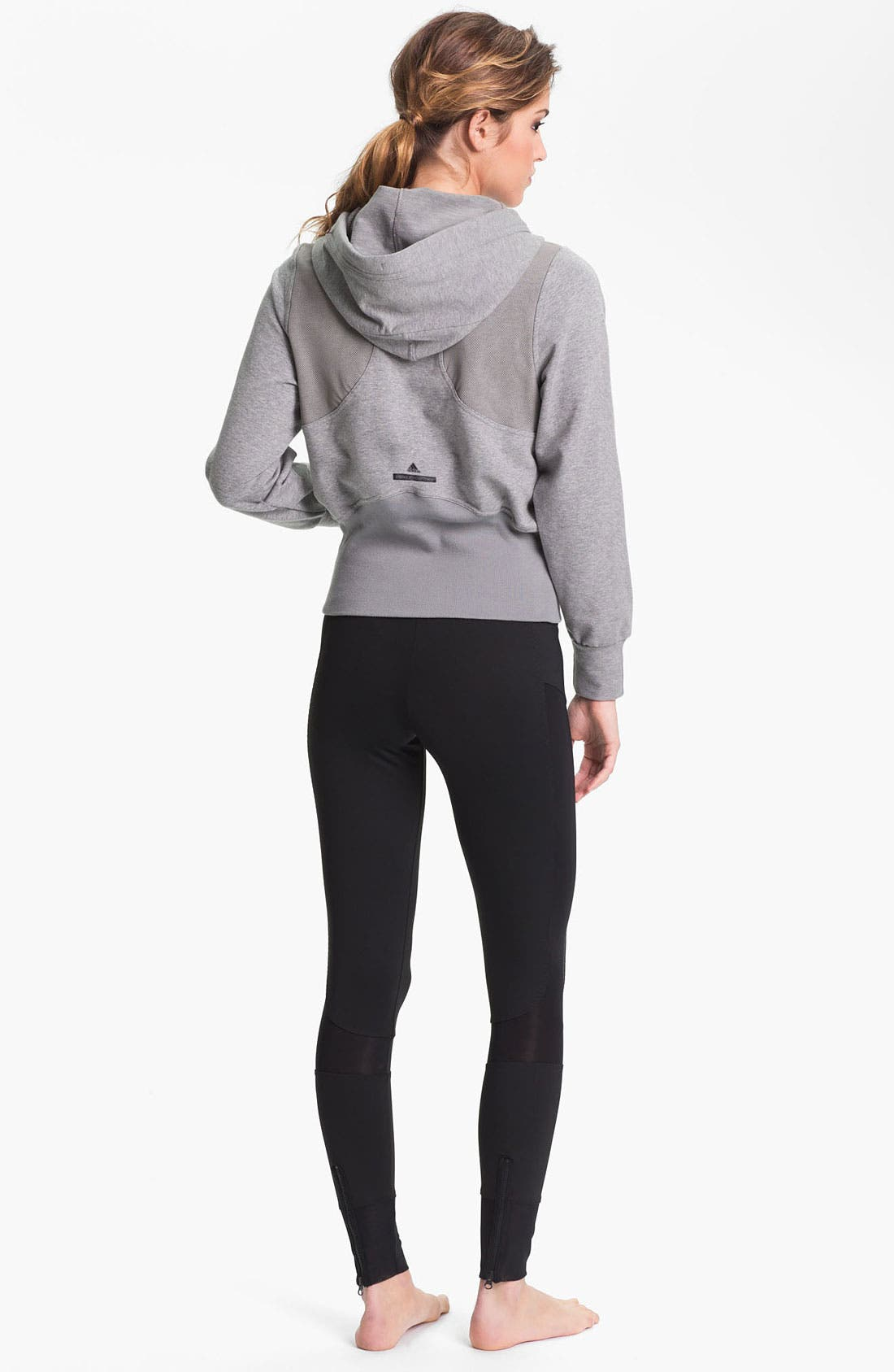 Alternate Image 4  - adidas by Stella McCartney 'Run Performance' Hoodie