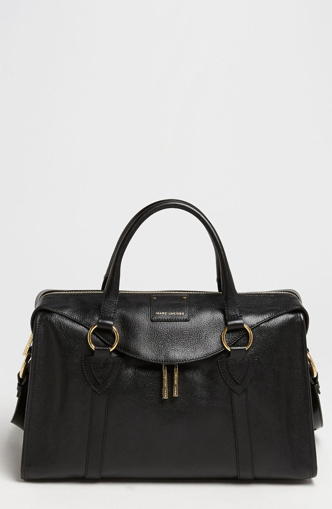Main Image - MARC JACOBS 'Large Wellington Fulton' Leather Satchel