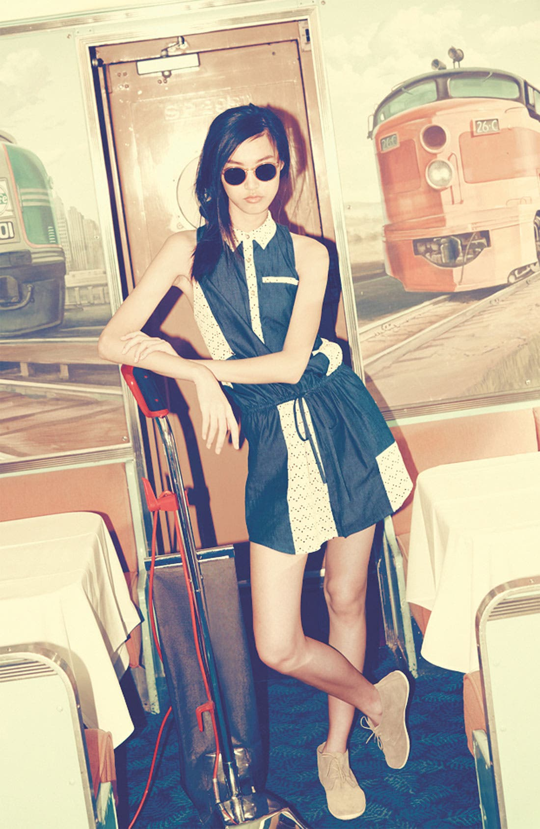 Alternate Image 1 Selected - Viva Vina! Dress & Accessories