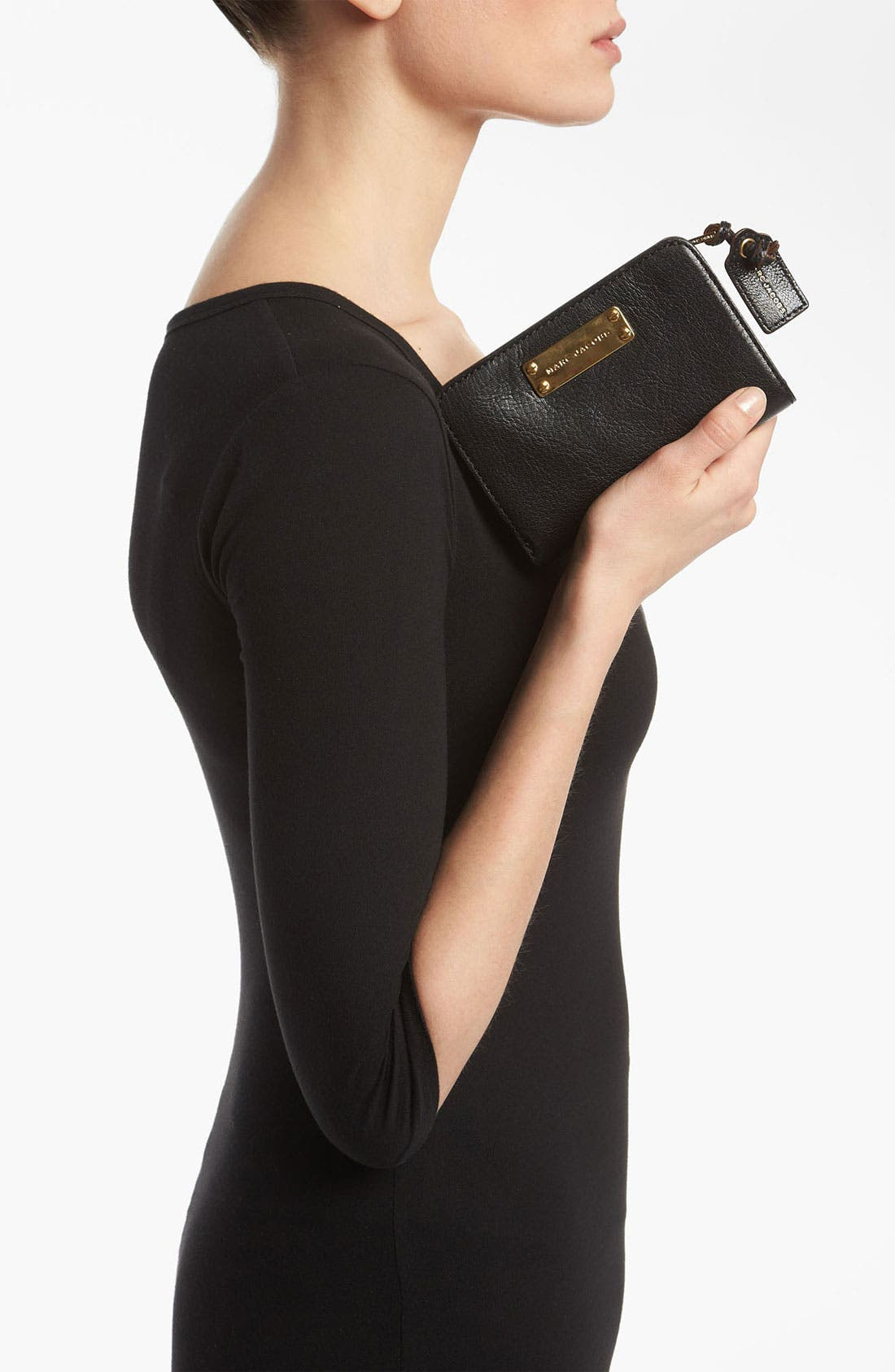 Alternate Image 4  - MARC JACOBS 'Wellington' Leather French Wallet