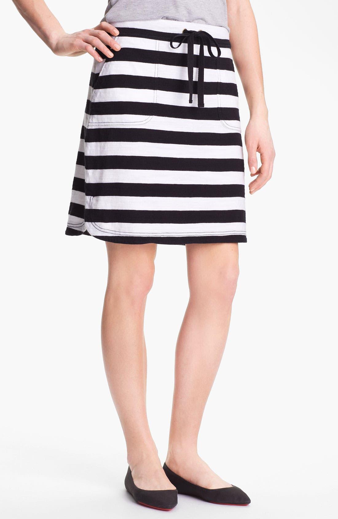 Alternate Image 1 Selected - Caslon Drawstring Skirt