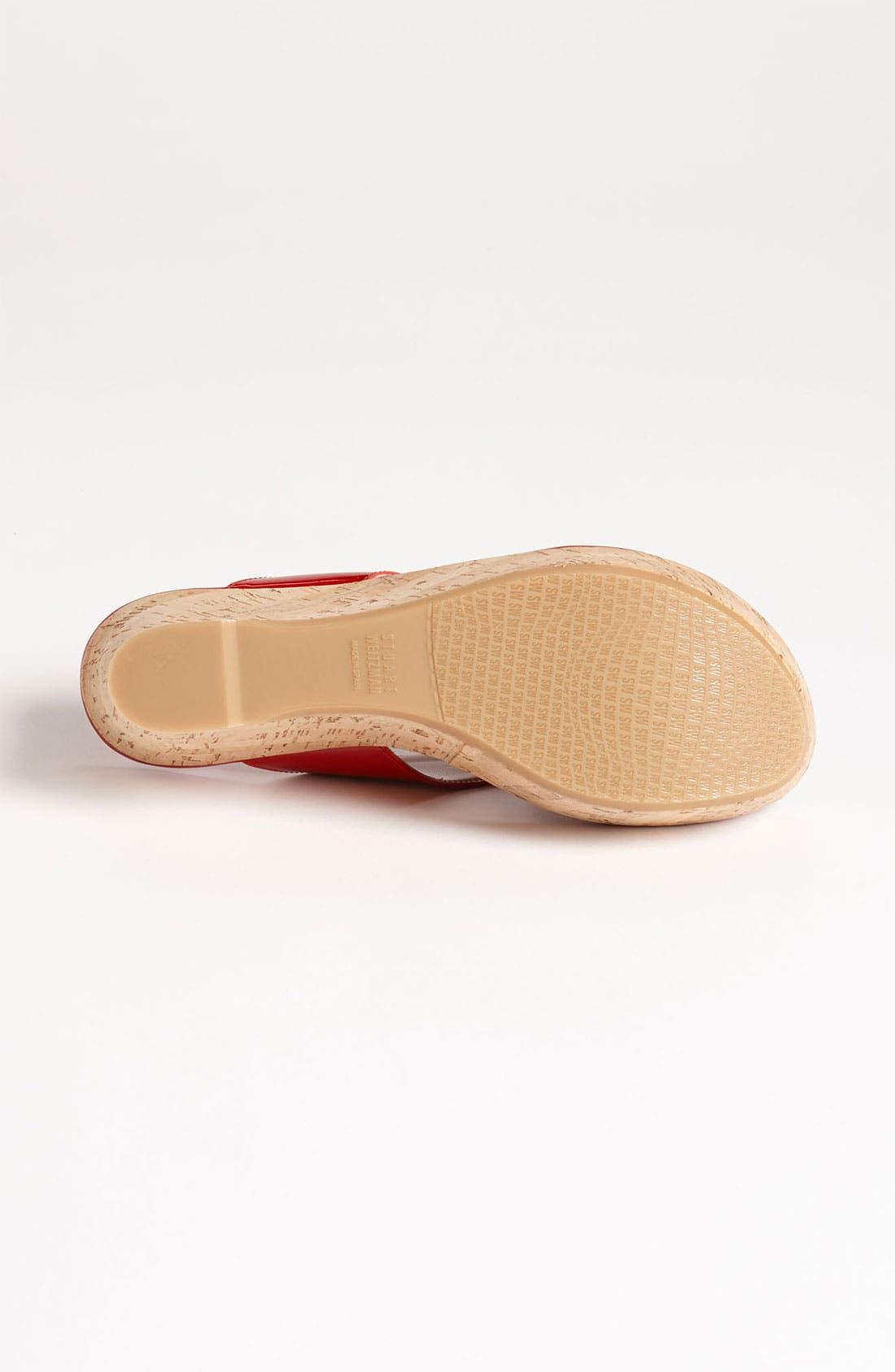 Alternate Image 4  - Stuart Weitzman 'Clasp' Sandal