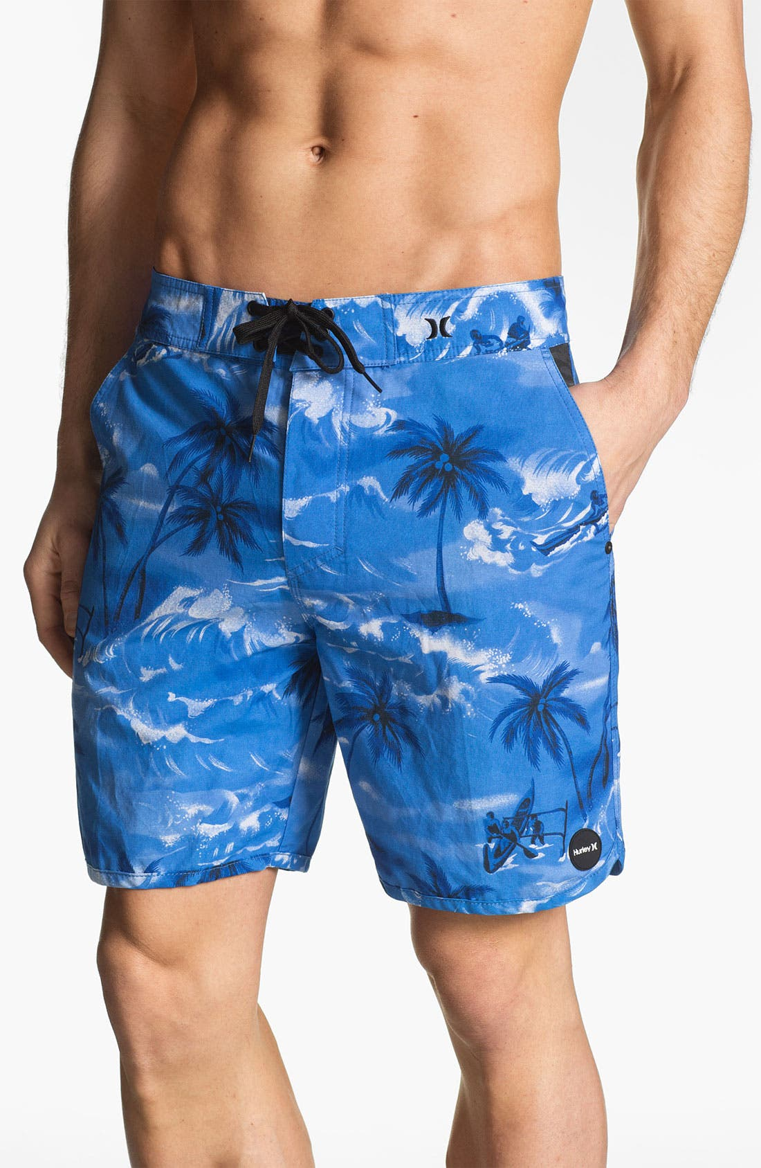 Main Image - Hurley 'Cool by the Pool' Hybrid Board Shorts
