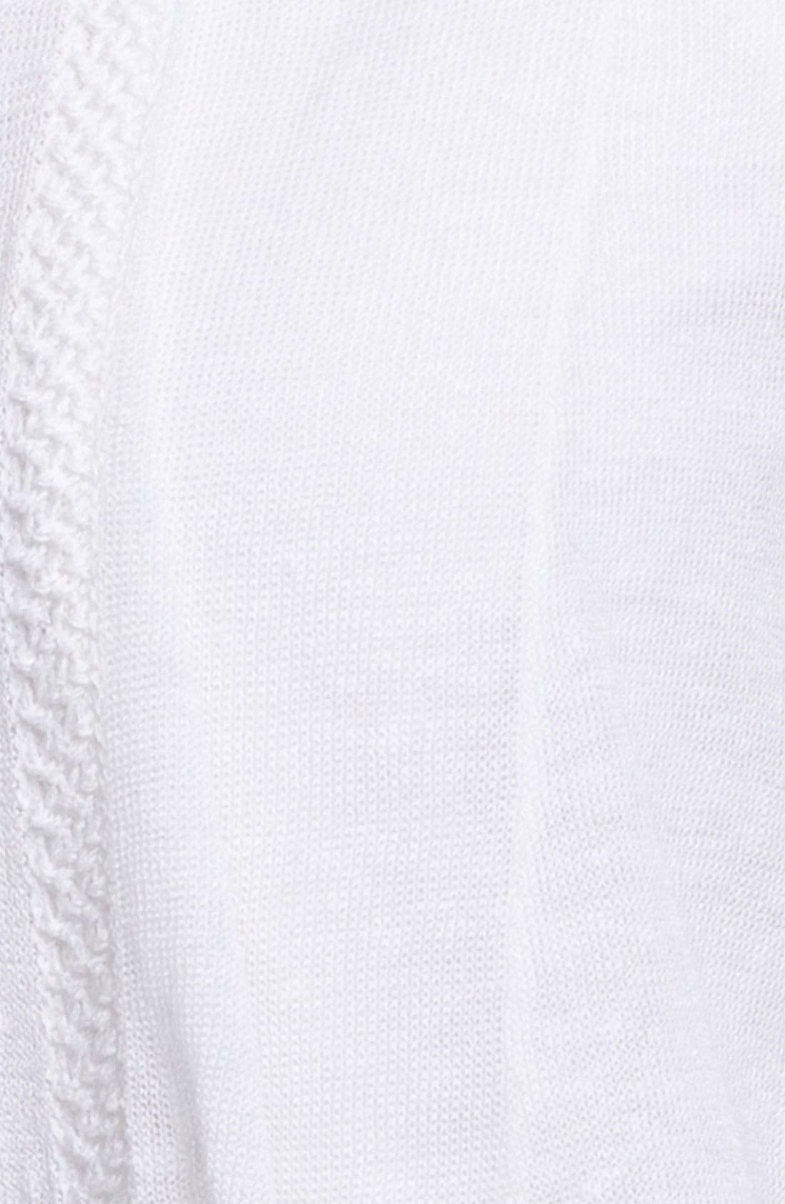 Alternate Image 3  - Fever Open Front Linen Cardigan