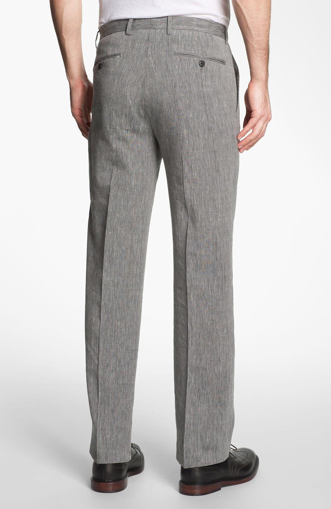 Alternate Image 2  - John Varvatos Star USA Red Label 'Petro' Flat Front Trousers