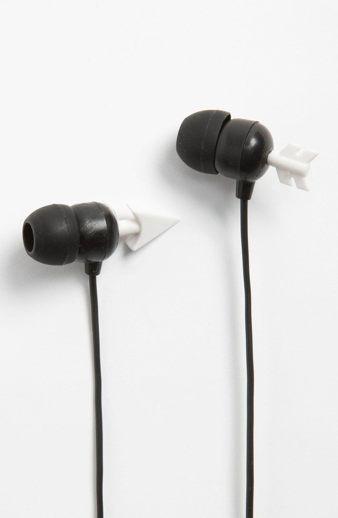 Alternate Image 1 Selected - Kikkerland Design Arrow Earbuds