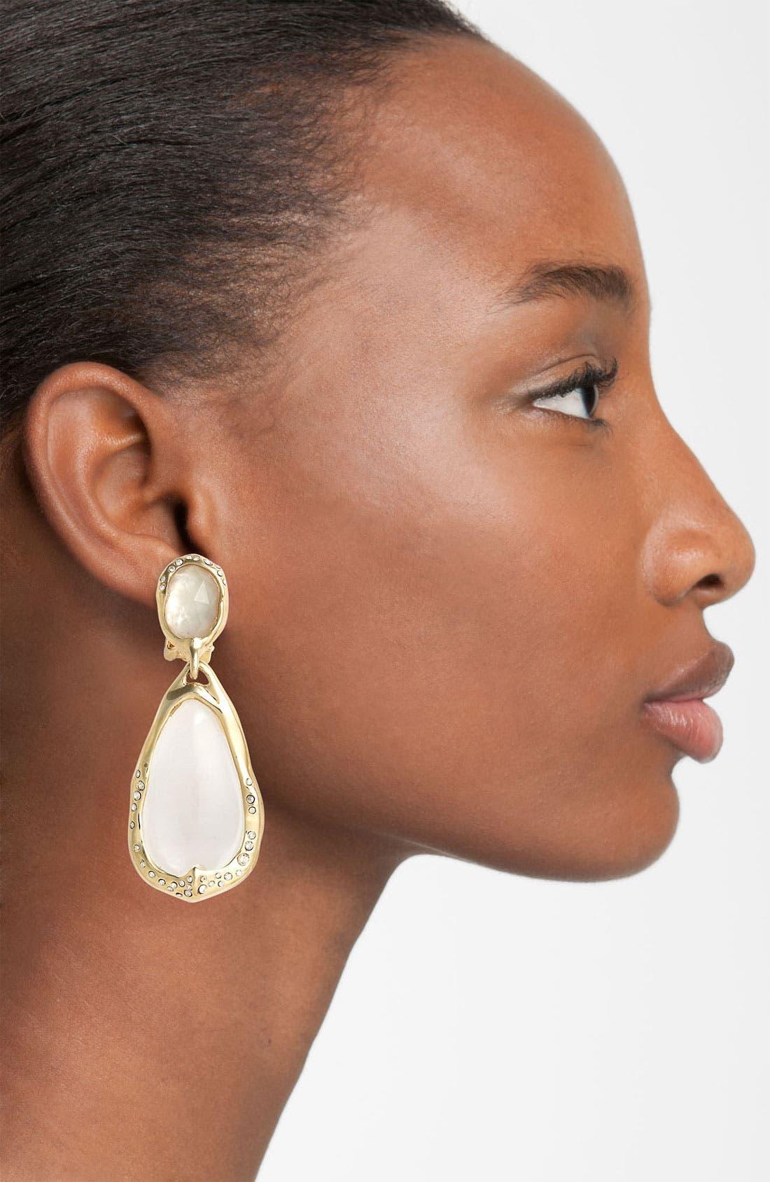 Alternate Image 2  - Alexis Bittar 'Lucite® - Ophelia' Clip Teardrop Earrings