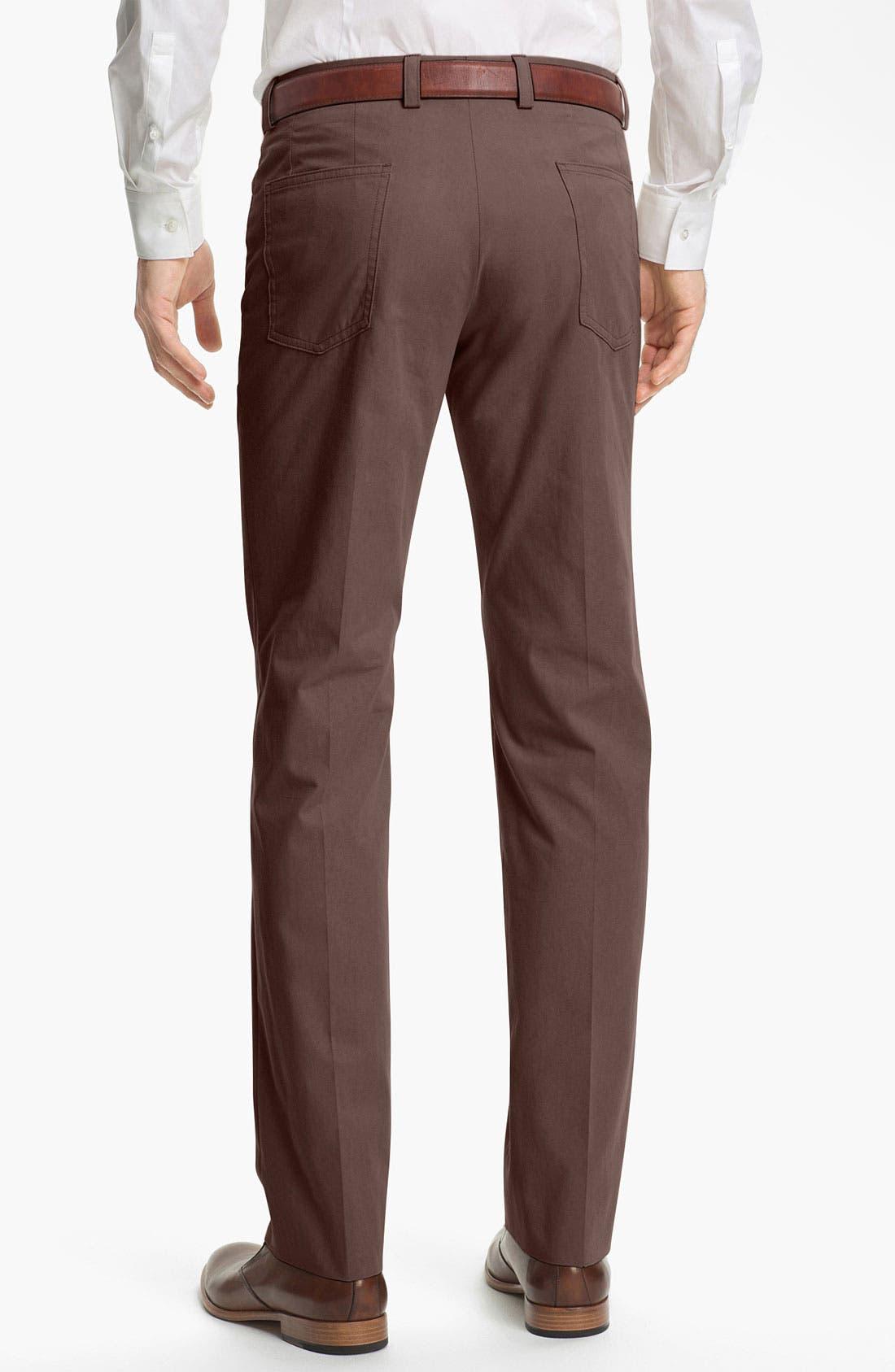 Alternate Image 2  - John Varvatos Star USA Five Pocket Trousers