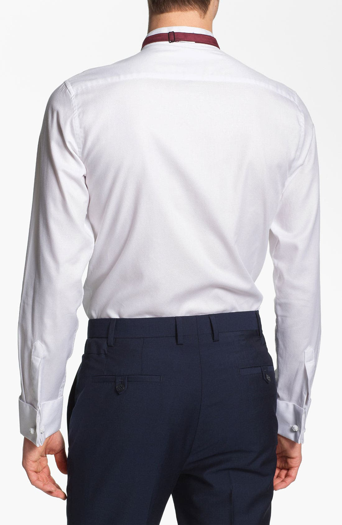 Alternate Image 2  - Topman 'Lux Collection' Wing Collar Dress Shirt