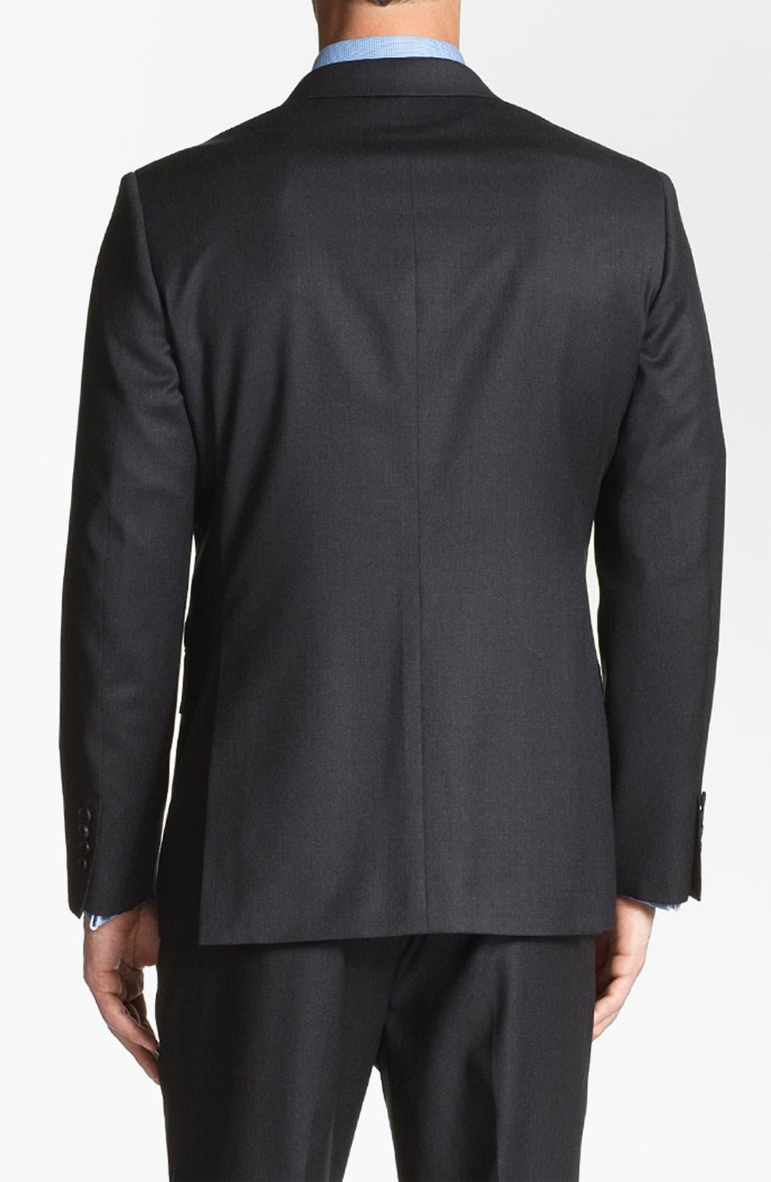 Alternate Image 4  - John W. Nordstrom 'Travel' Classic Fit Wool Suit