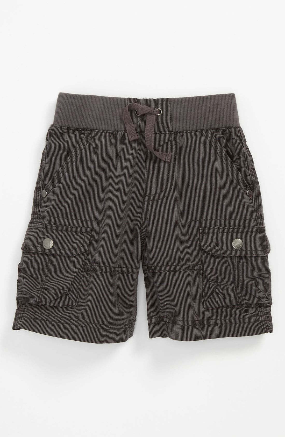 Alternate Image 1 Selected - Pumpkin Patch Pinstripe Cargo Shorts (Baby)