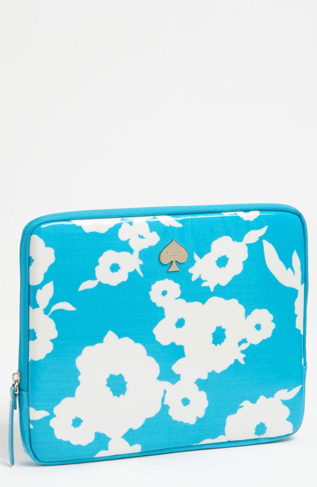 Main Image - kate spade new york 'picnic floral' iPad sleeve
