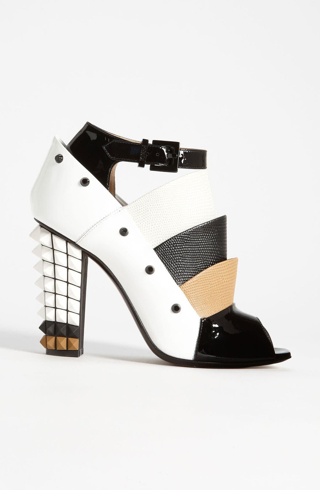 Alternate Image 4  - Fendi Ankle Strap Bootie