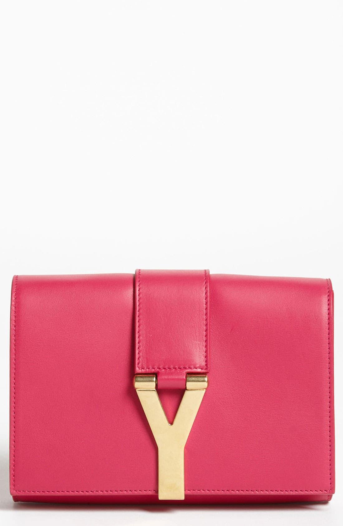 Main Image - Saint Laurent 'Y Chain - Mini' Leather Handbag