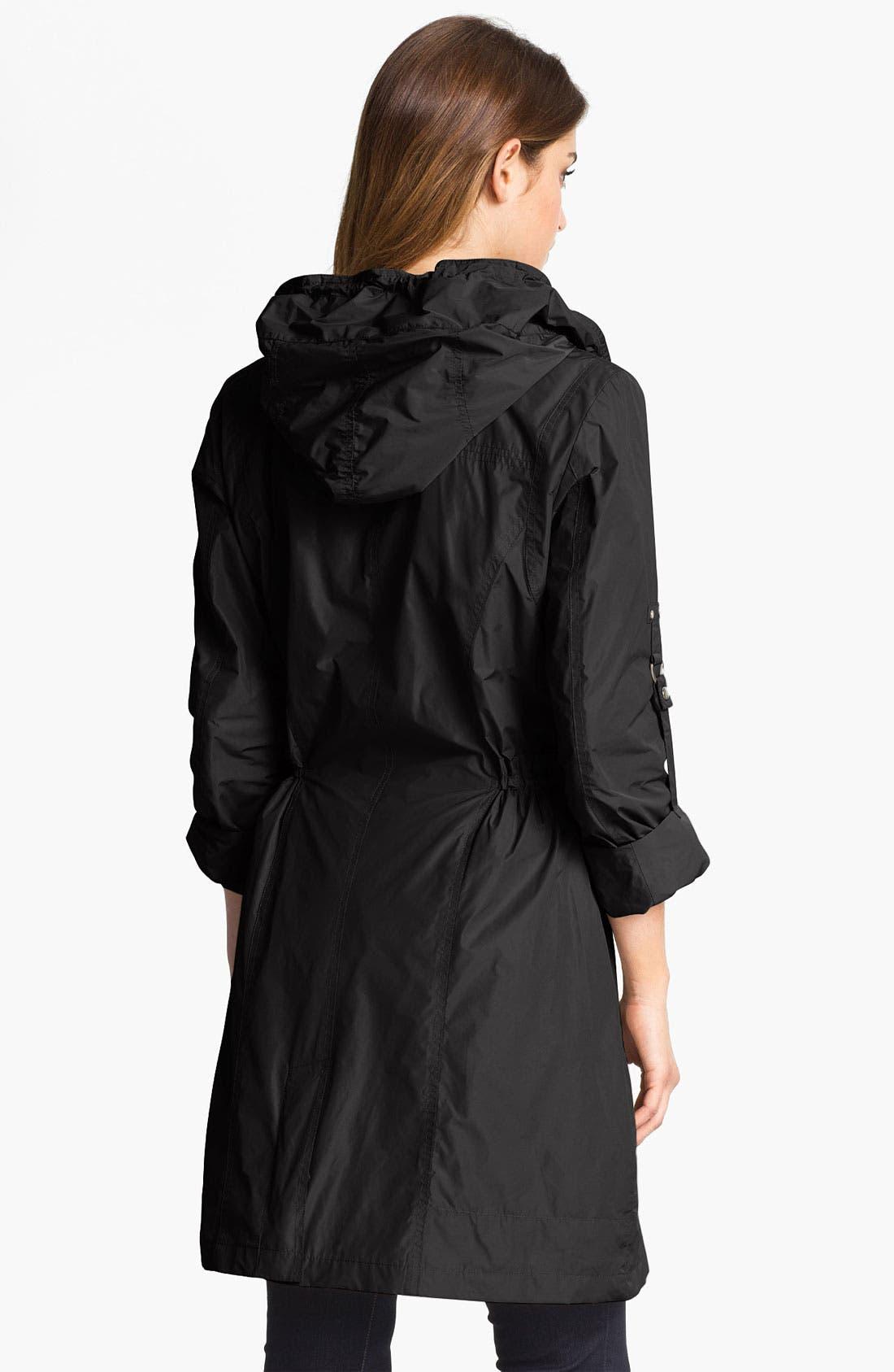 Alternate Image 2  - RAINFOREST Packable Hooded Raincoat