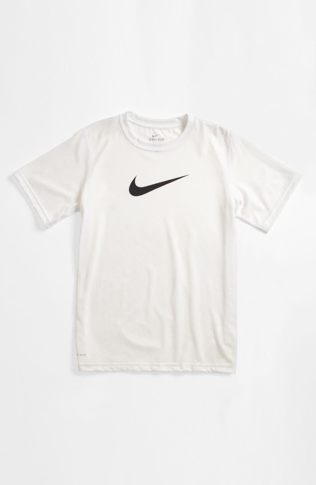 Alternate Image 1 Selected - Nike 'Legend GFX' T-Shirt (Big Boys)