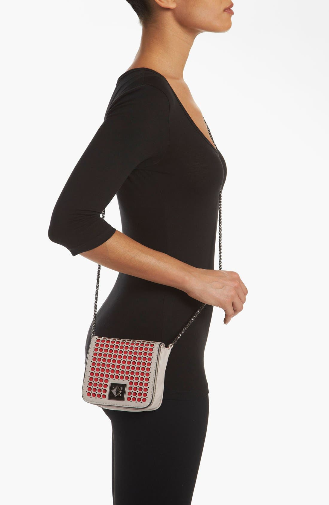 Alternate Image 2  - POVERTY FLATS by rian Perforated Mini Clutch
