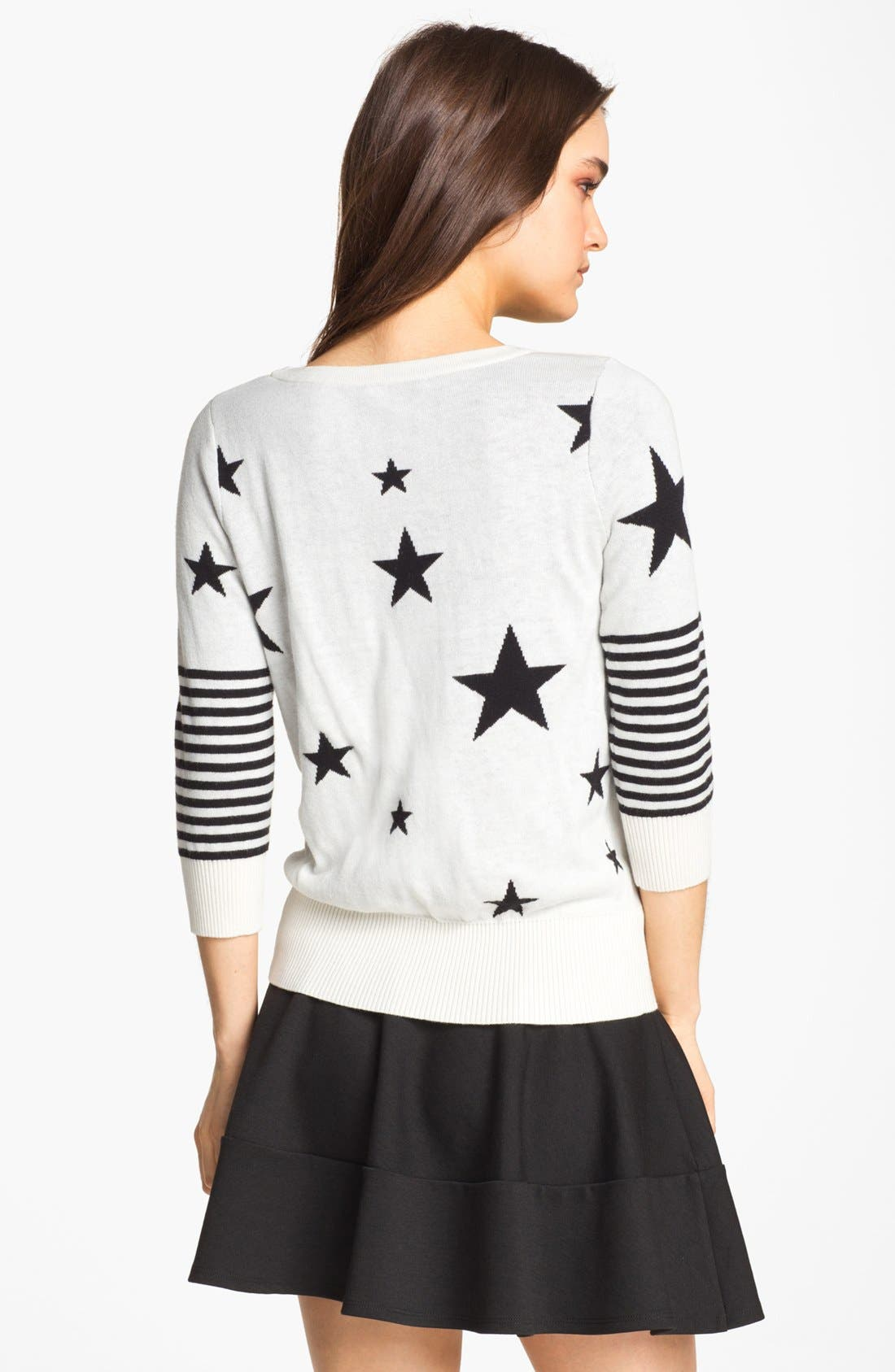 Alternate Image 2  - Remain Star & Stripe Sweater