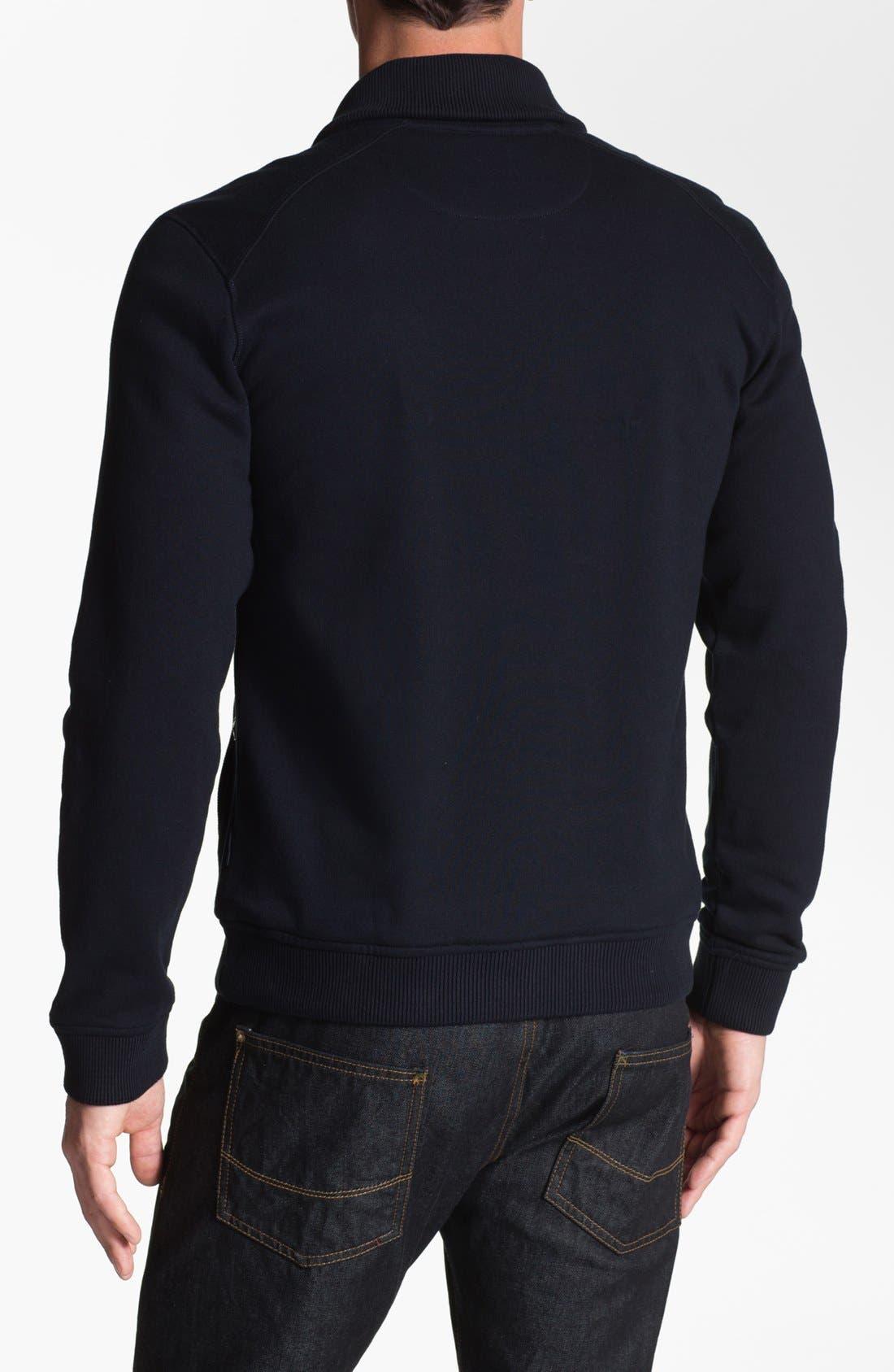 Alternate Image 2  - Ted Baker London 'Norush' Shawl Collar Sweatshirt