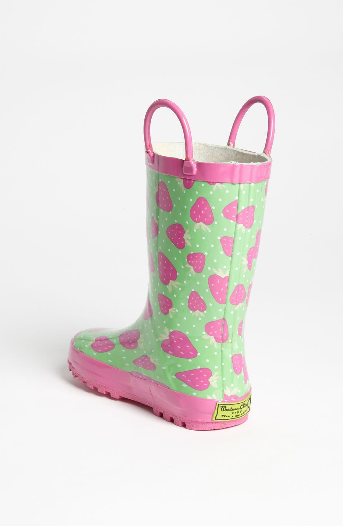 Alternate Image 2  - Western Chief 'Strawberry Toss' Rain Boot (Toddler & Little Kid)