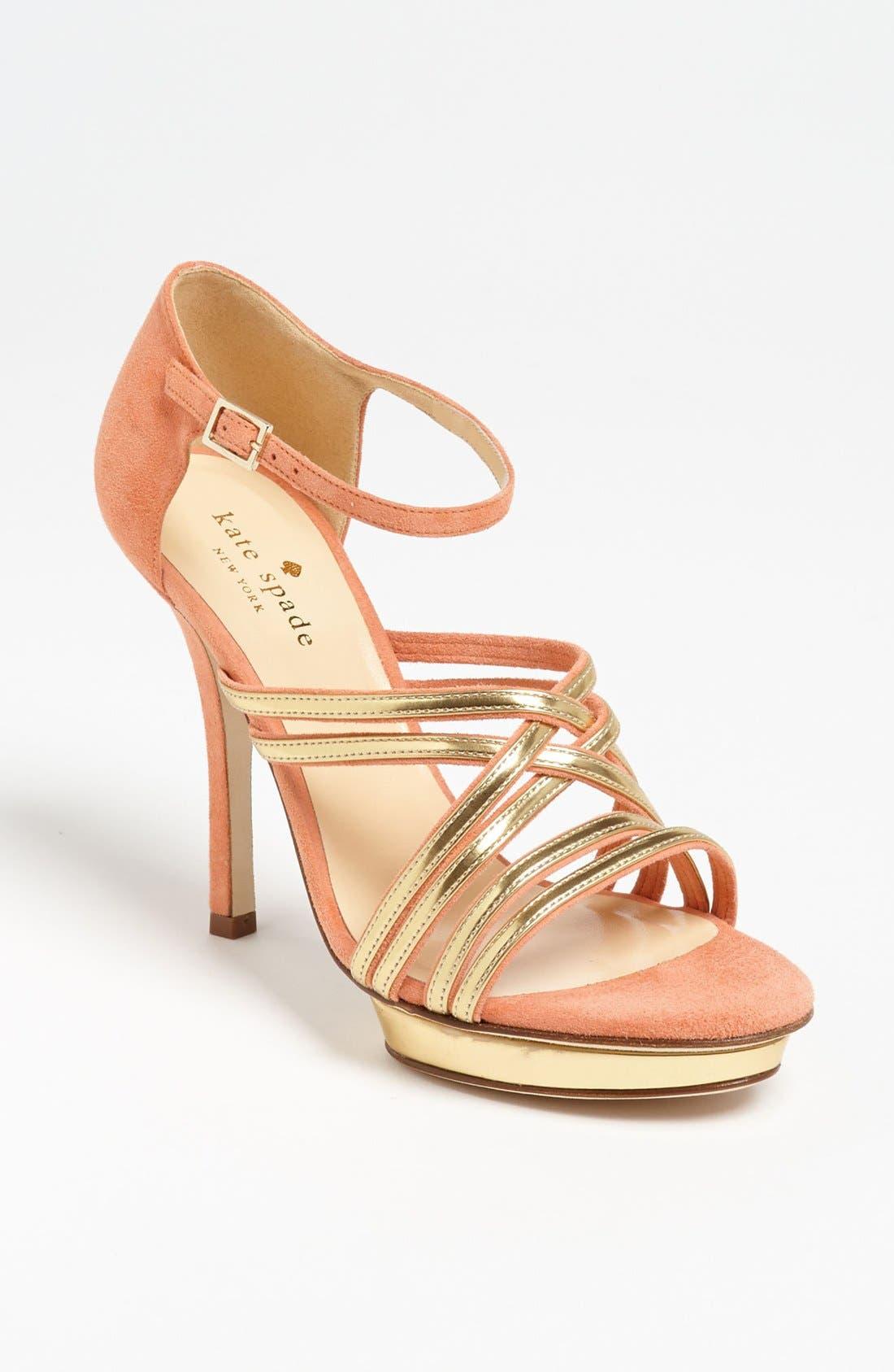 Alternate Image 1 Selected - kate spade new york 'vanity' sandal