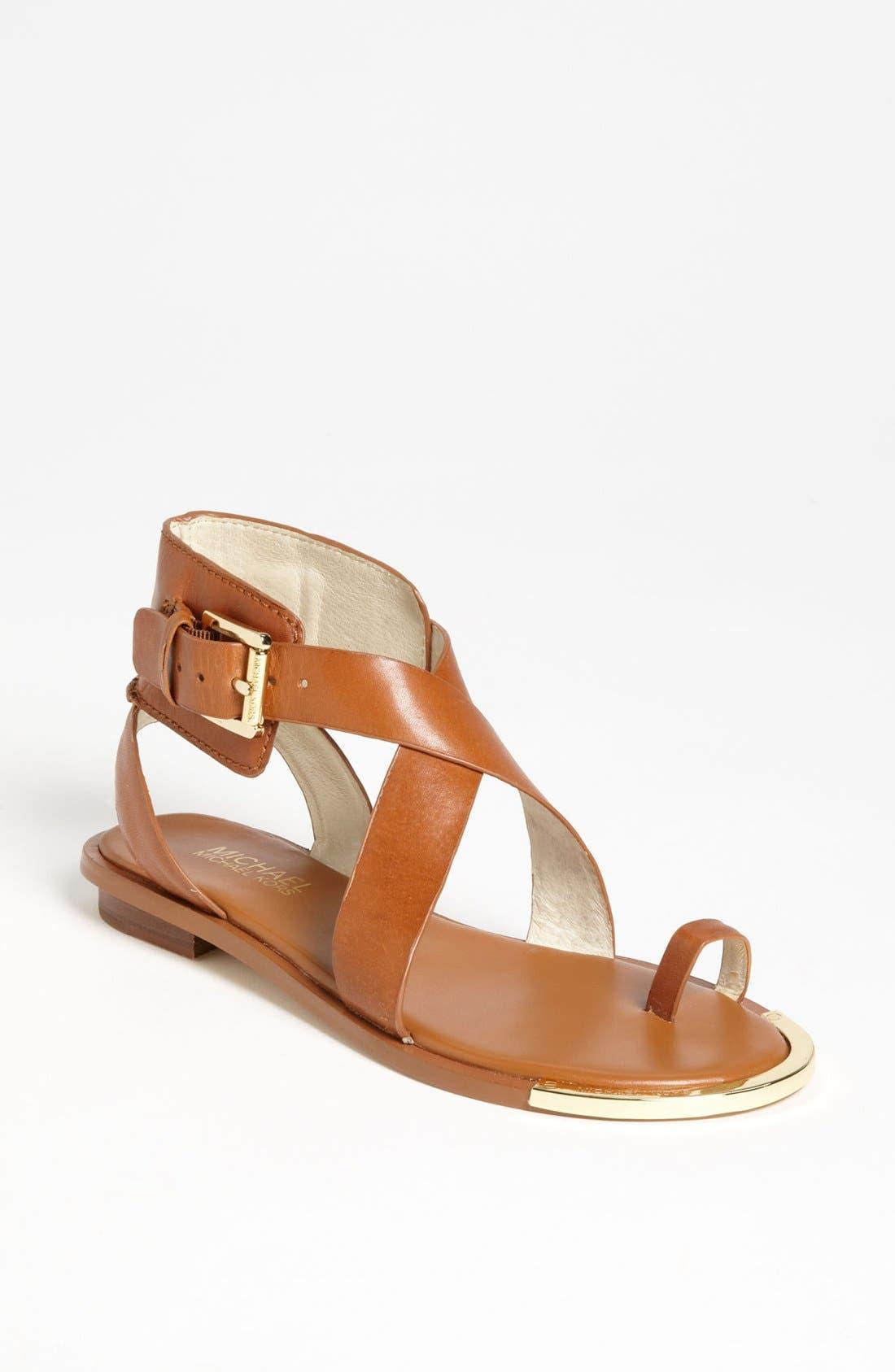 Alternate Image 1 Selected - MICHAEL Michael Kors 'Calder' Toe Loop Sandal