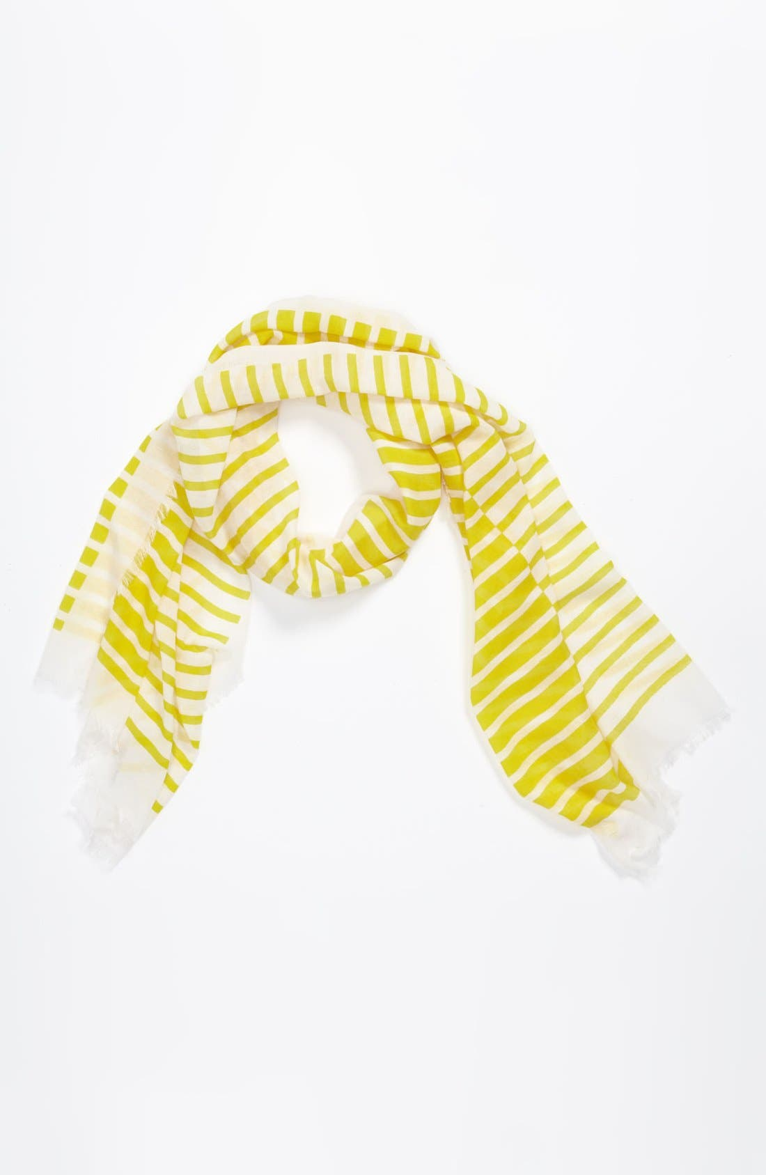 Alternate Image 1 Selected - Peace of Cake Stripe Scarf (Girls)