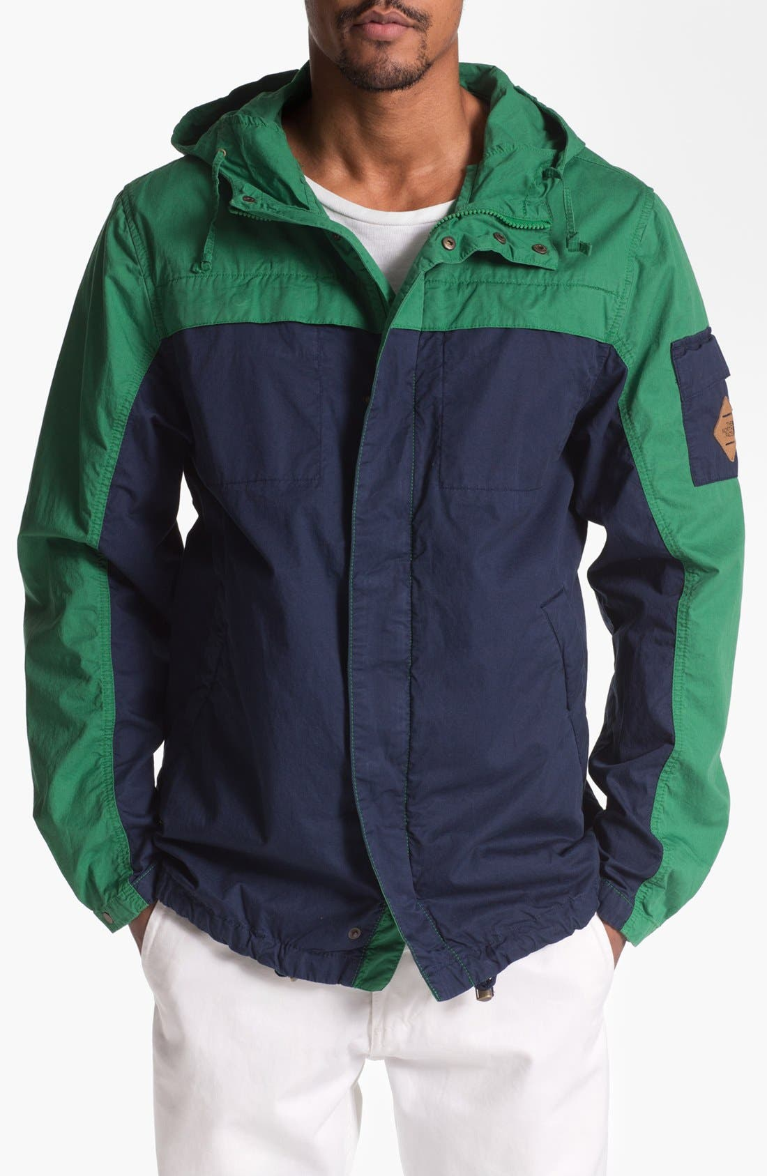 Alternate Image 1 Selected - The North Face 'Vernel' Hooded Twill Jacket