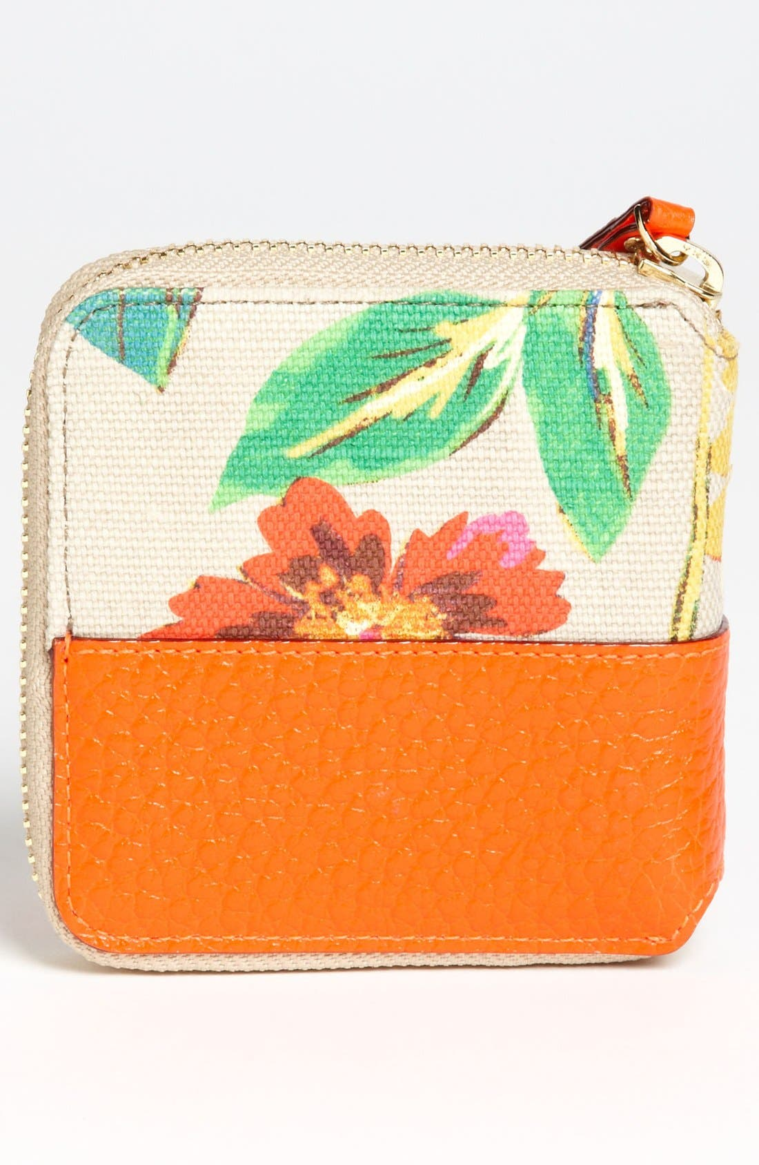 Alternate Image 4  - kate spade new york 'grove court floral - delores' french wallet