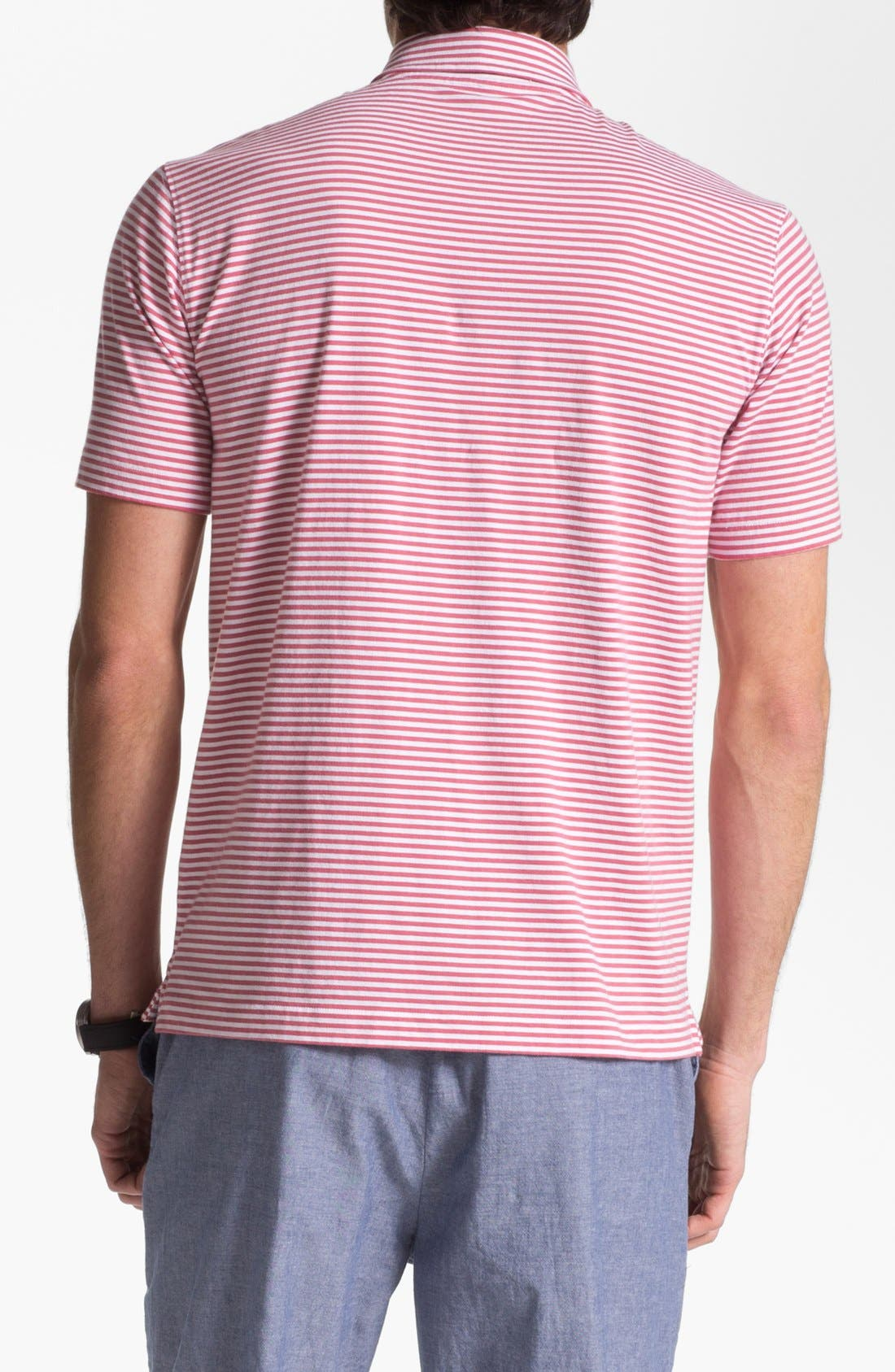 Alternate Image 2  - Vineyard Vines 'Clearwater' Stripe Polo
