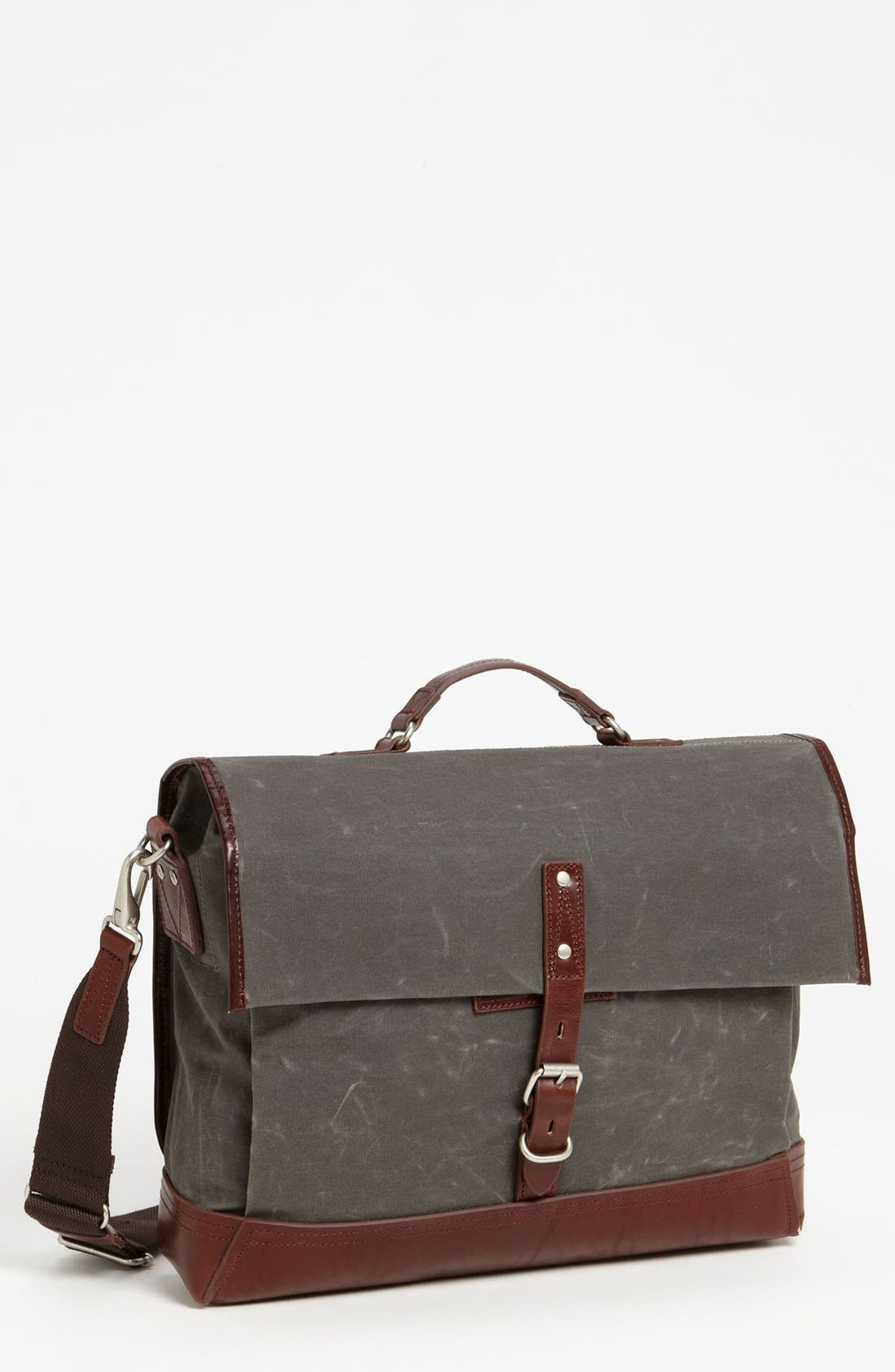 Main Image - Property Of… 'Alfred' Canvas Briefcase