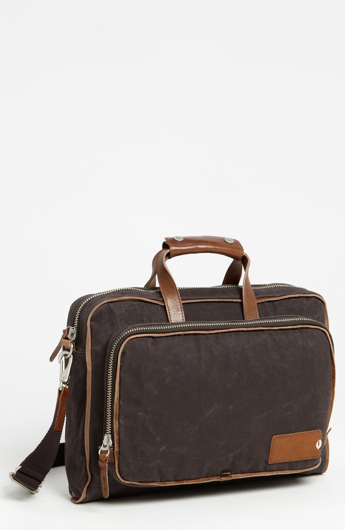 Main Image - Property Of… 'Arnald' Canvas Briefcase