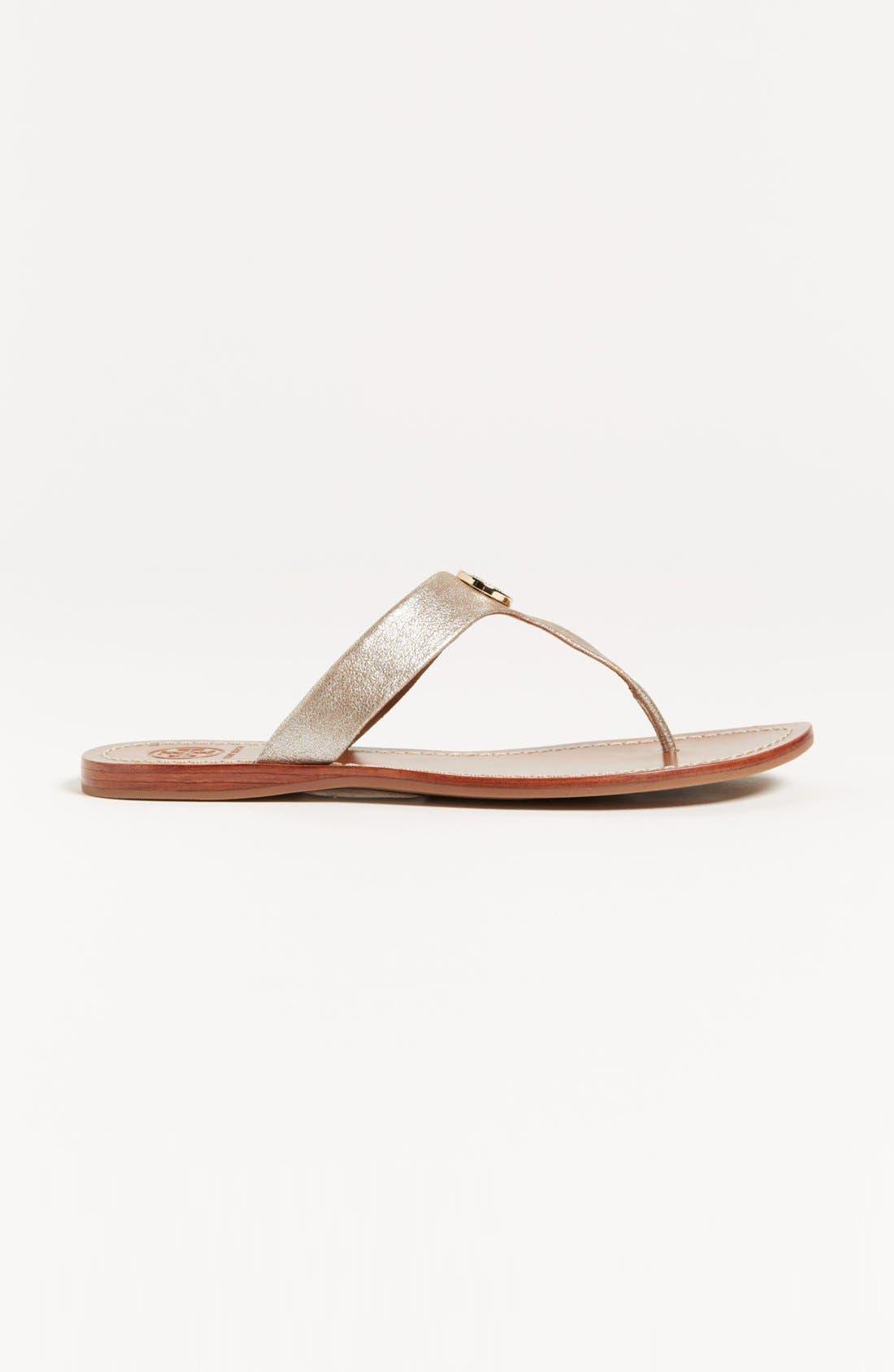 Alternate Image 4  - Tory Burch 'Cameron' Sandal (Exclusive Color)