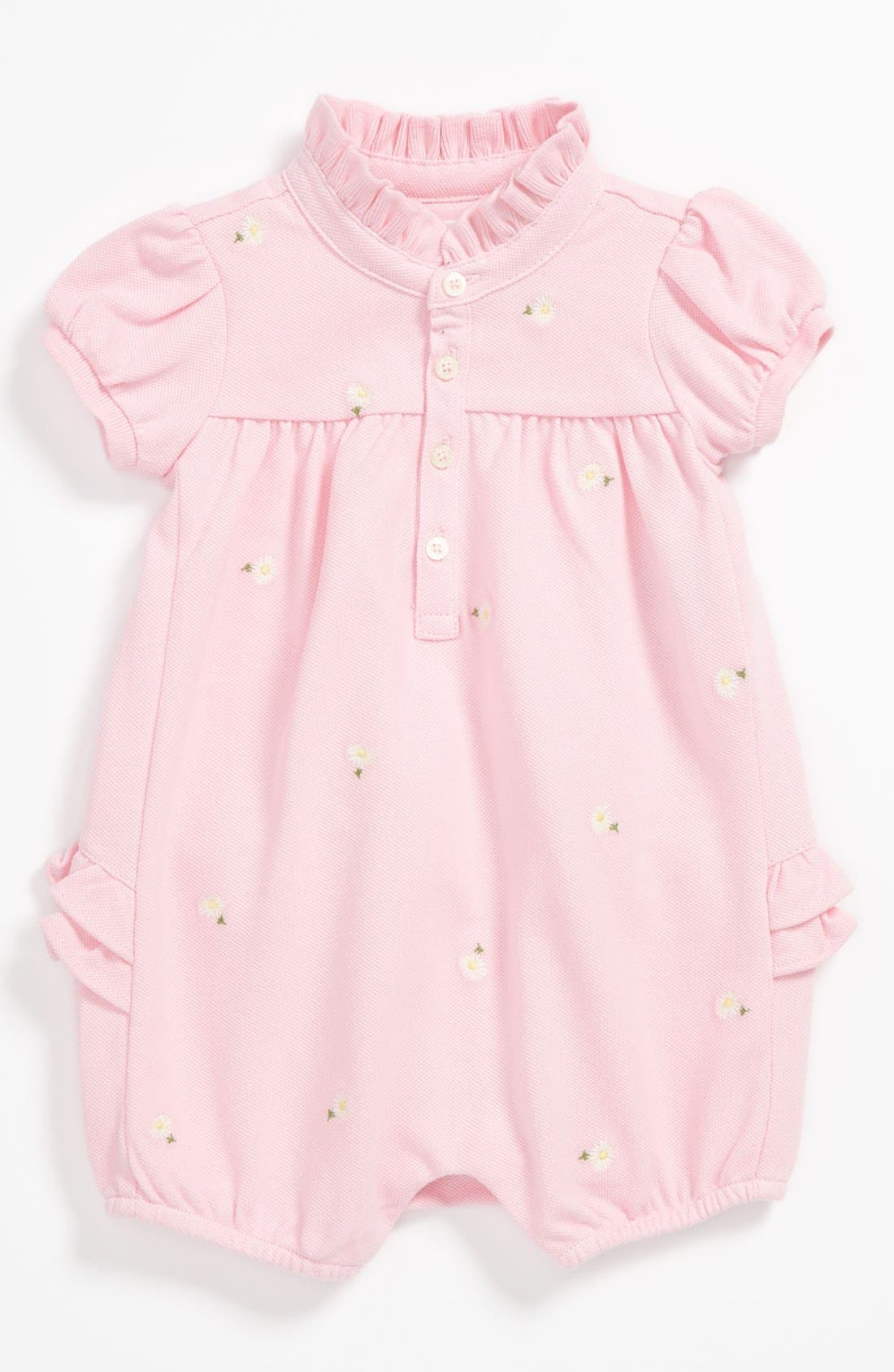 Alternate Image 1 Selected - Ralph Lauren Bubble Coveralls (Baby)