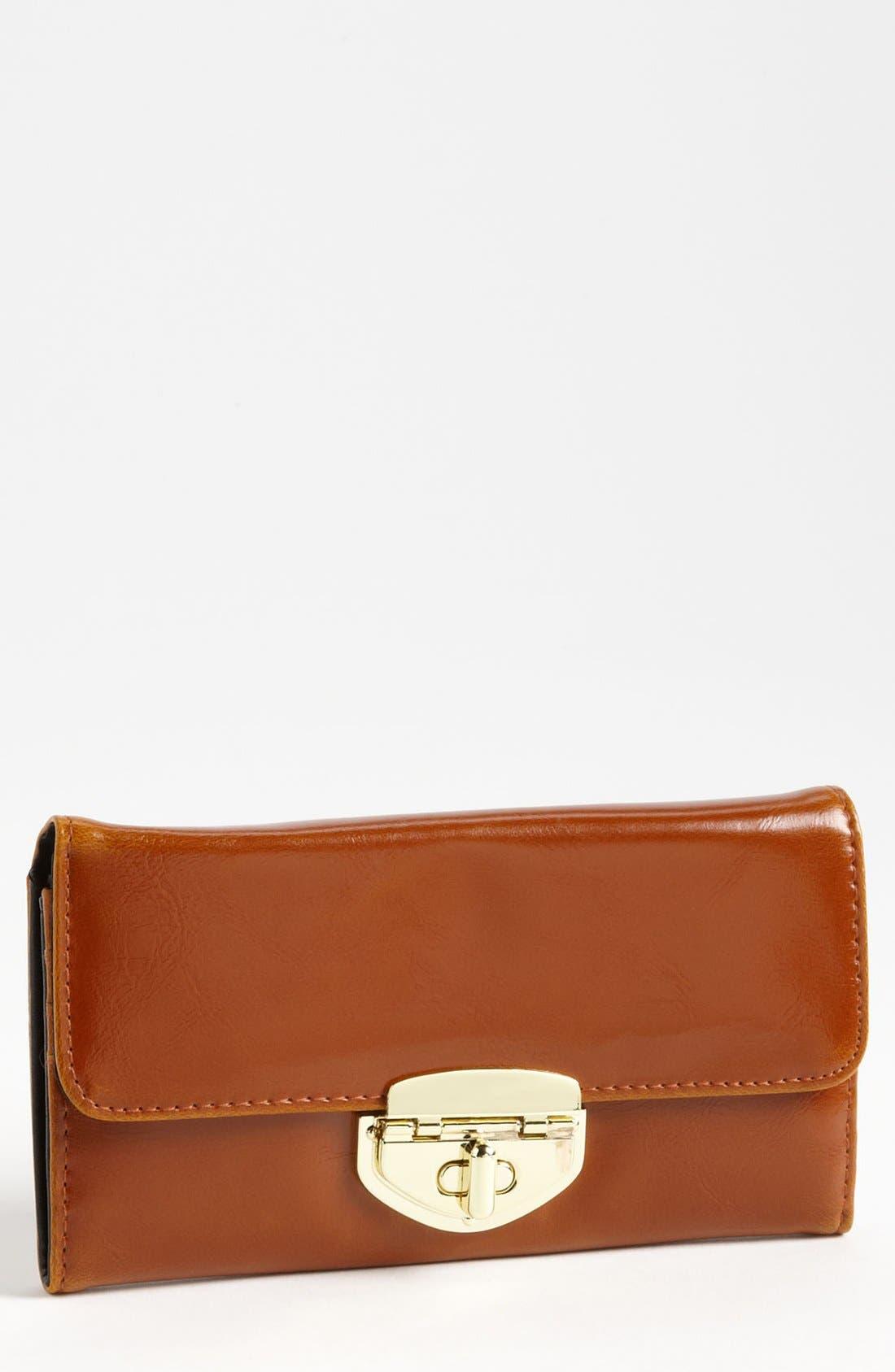 Alternate Image 1 Selected - Topshop Twist Lock Wallet