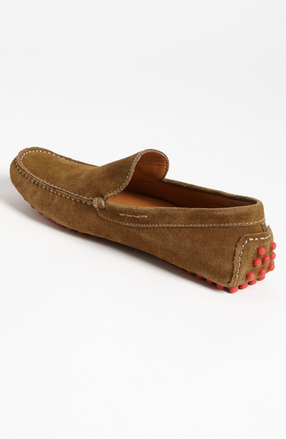 'Montego' Driving Shoe,                             Alternate thumbnail 2, color,                             Tobacco