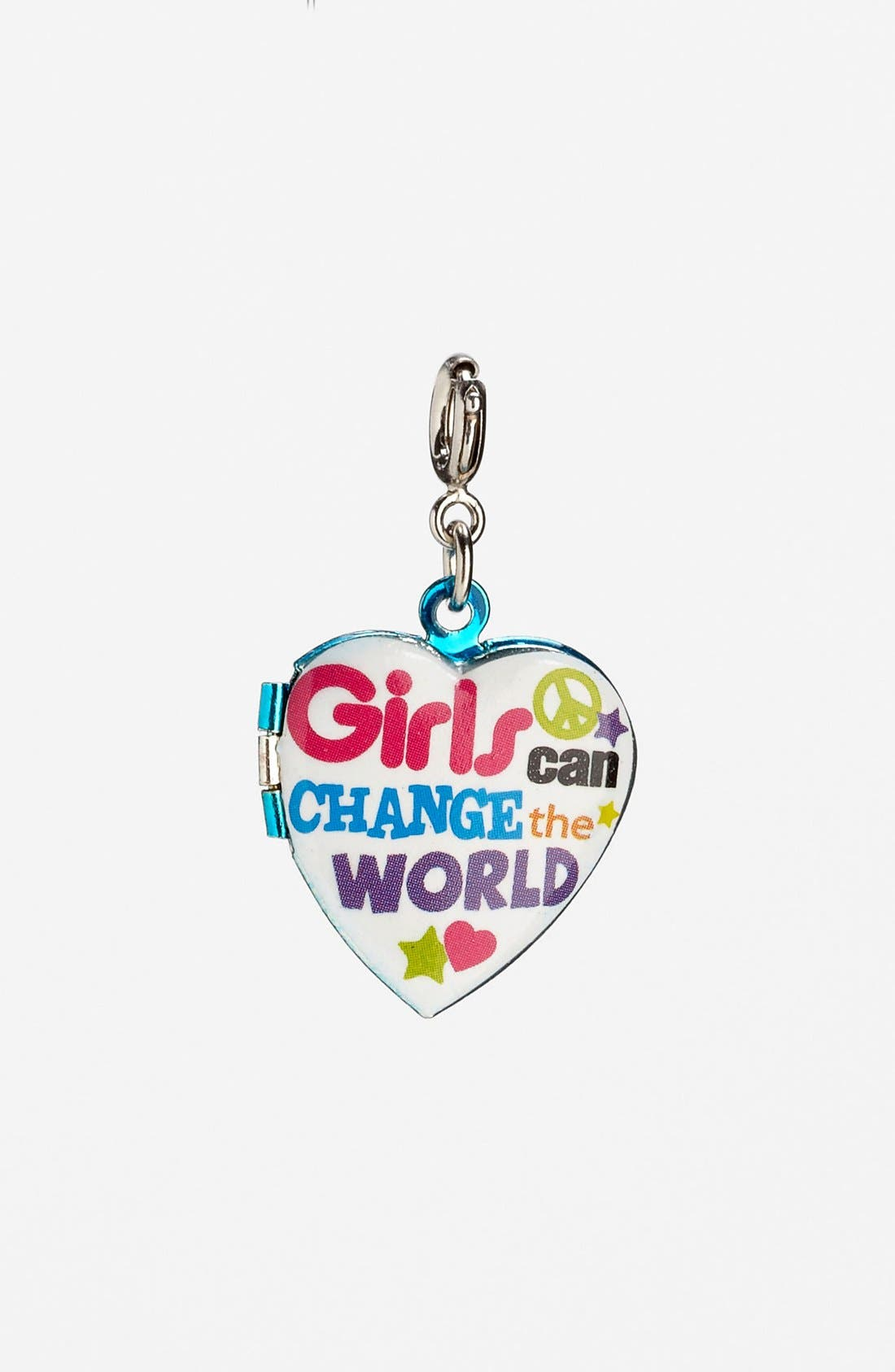 Alternate Image 1 Selected - CHARM IT!® 'Girls Can Change The World' Charm (Girls)
