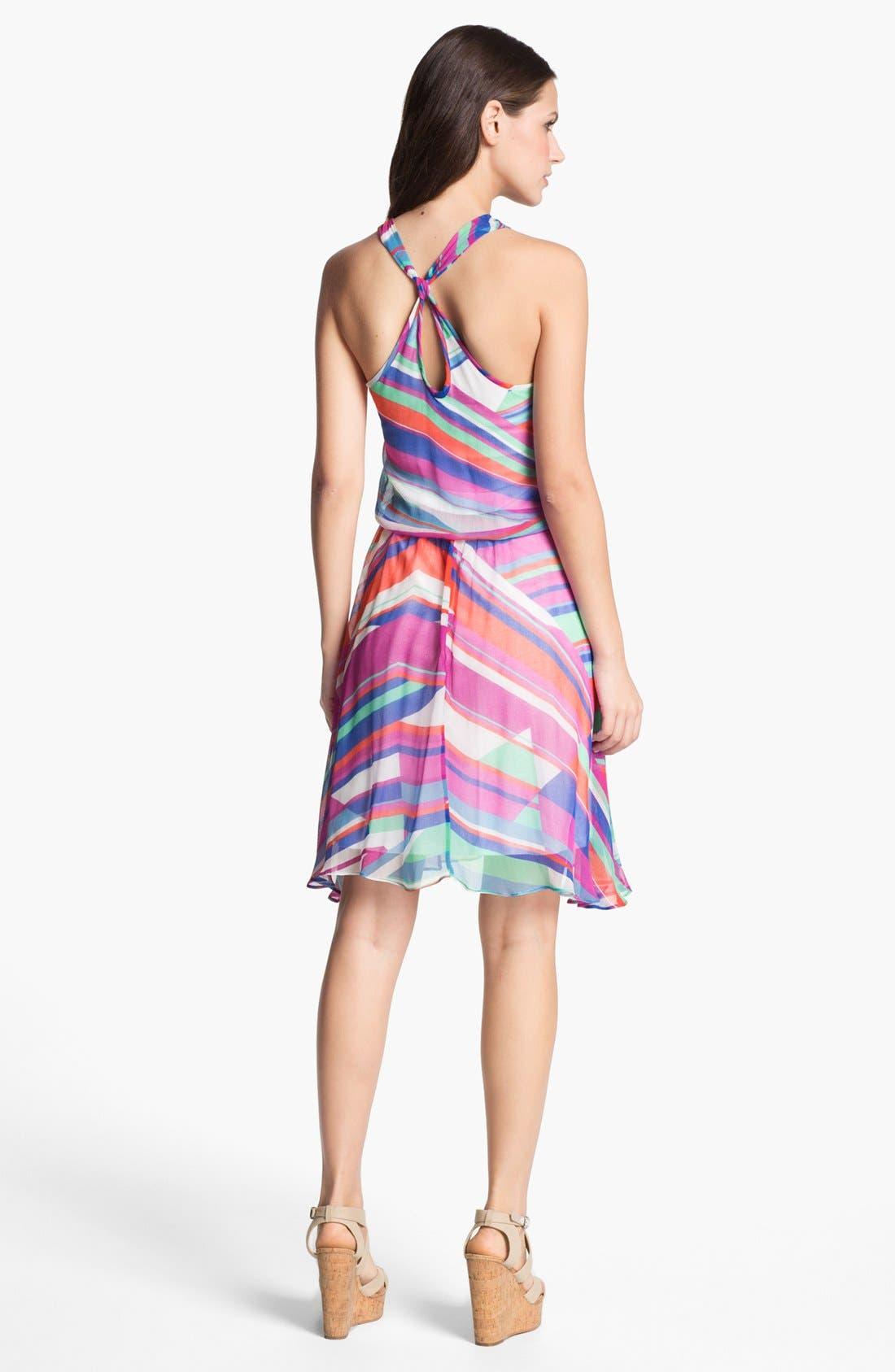 Alternate Image 2  - Ella Moss Print Chiffon Tank Dress