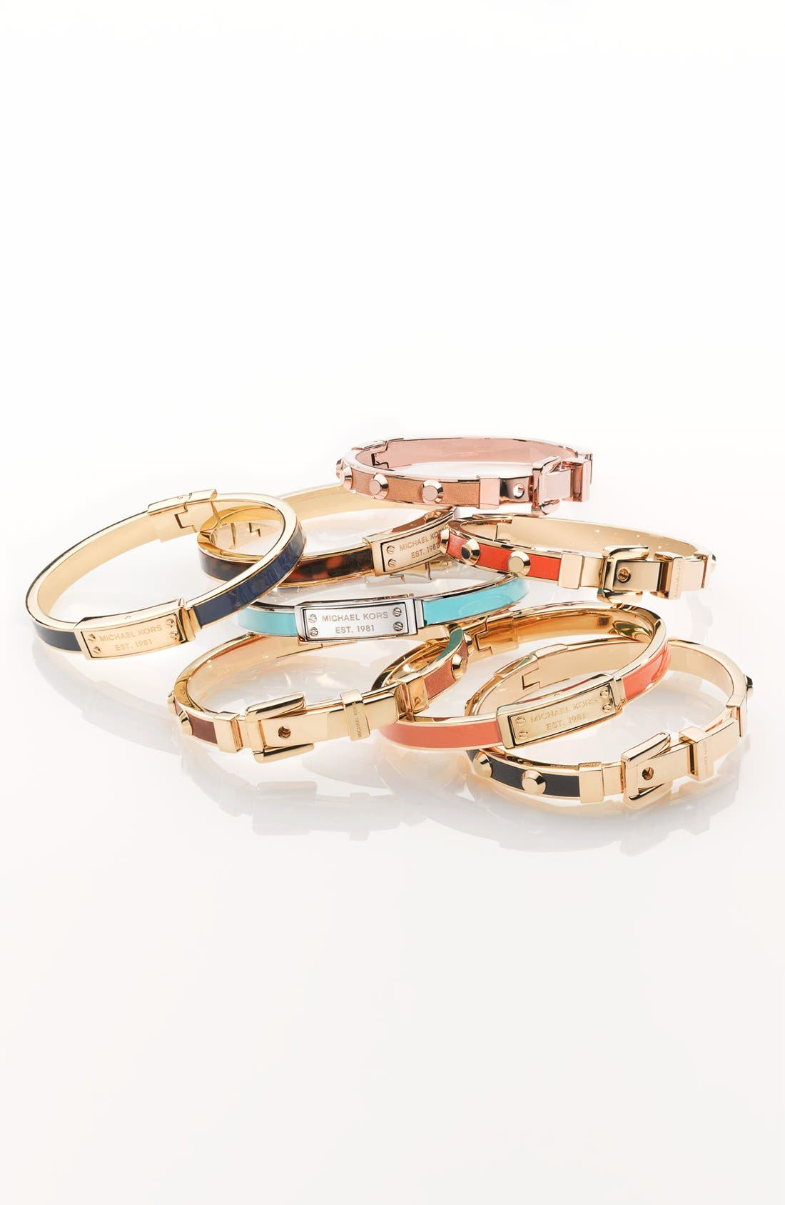 Alternate Image 2  - Michael Kors 'Uptown Astor' Buckle Bangle