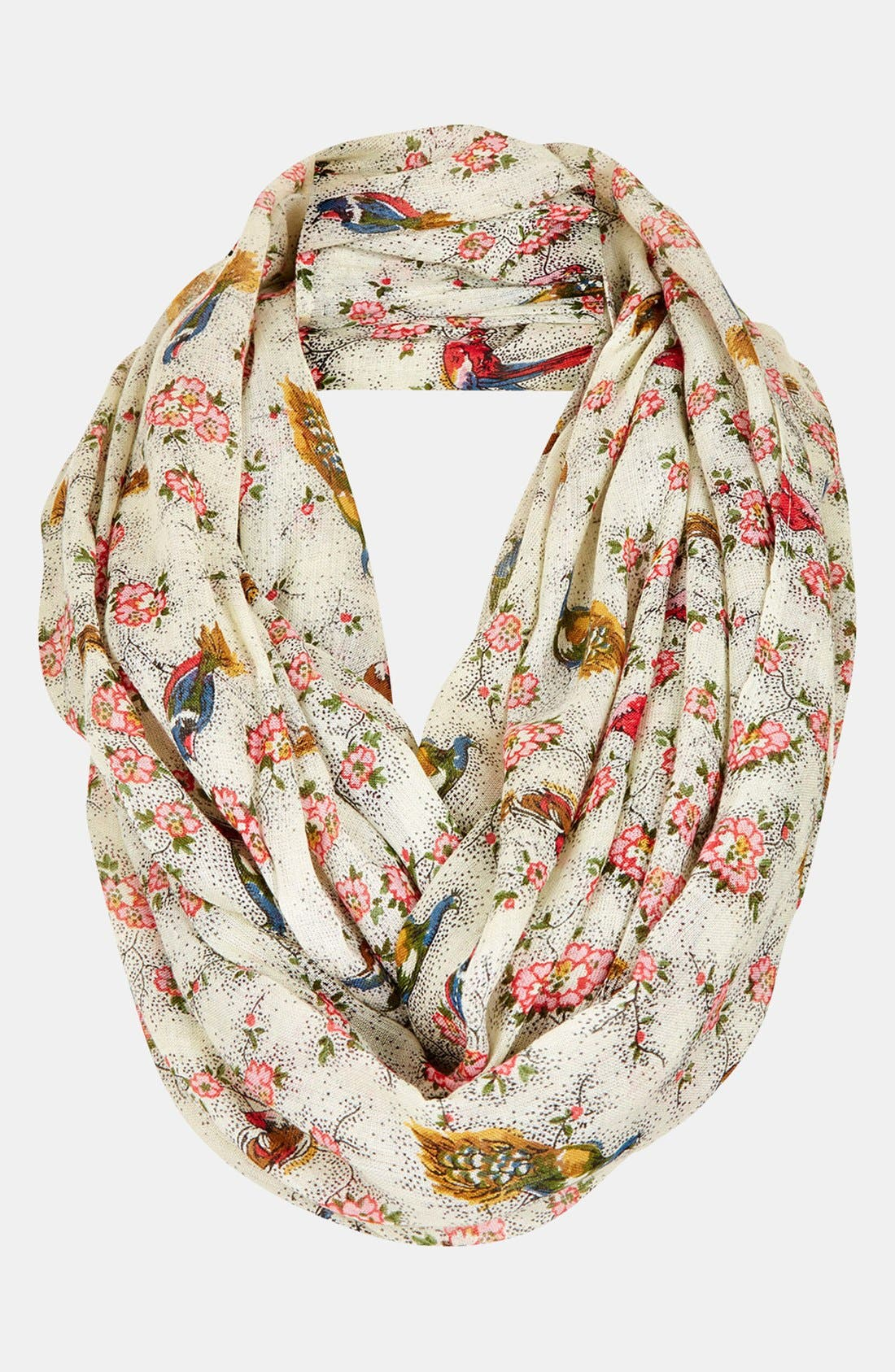 Alternate Image 1 Selected - Topshop Bird Print Snood