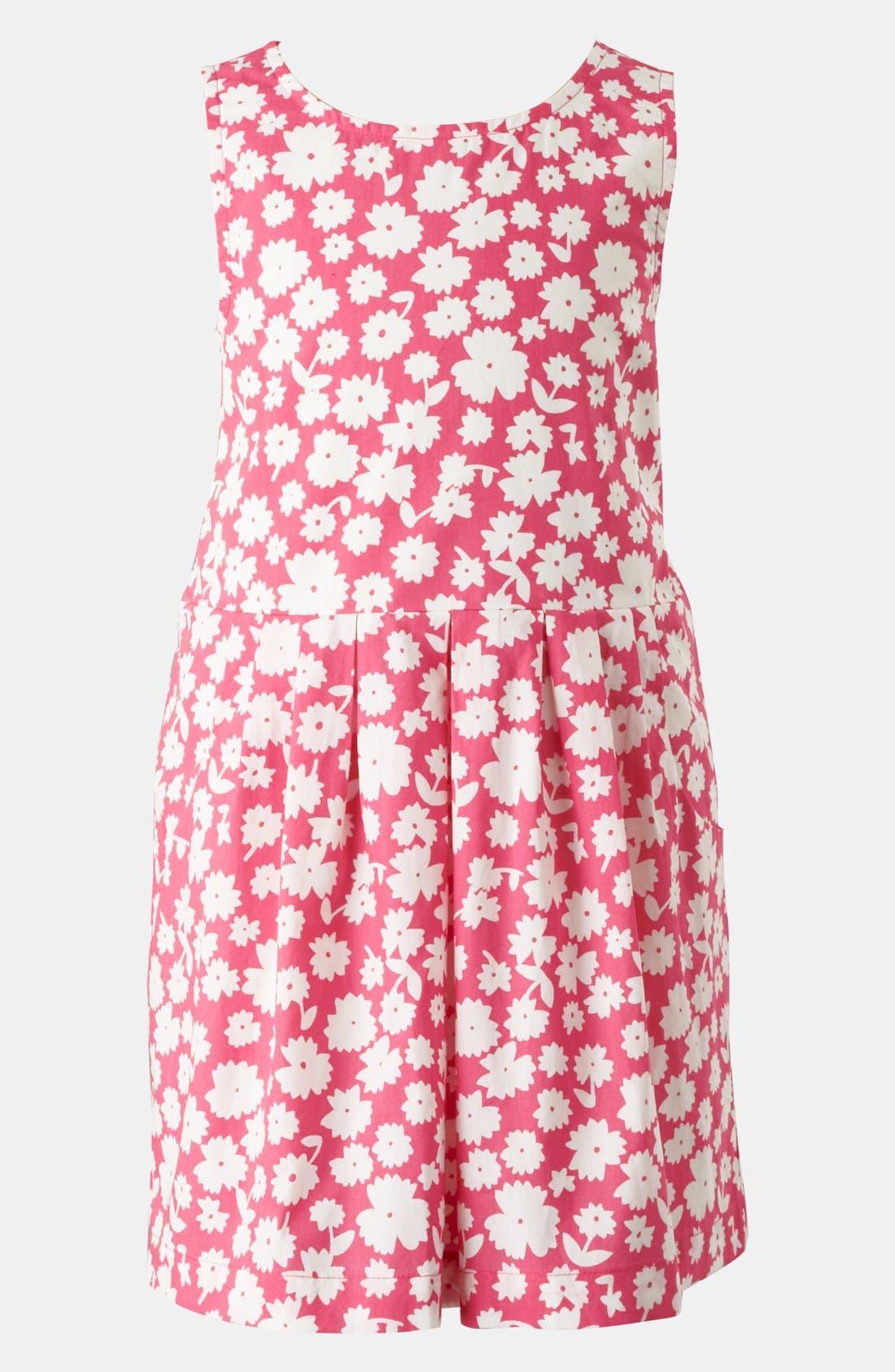 Alternate Image 1 Selected - Mini Boden 'Tulip' Dress (Little Girls & Big Girls)